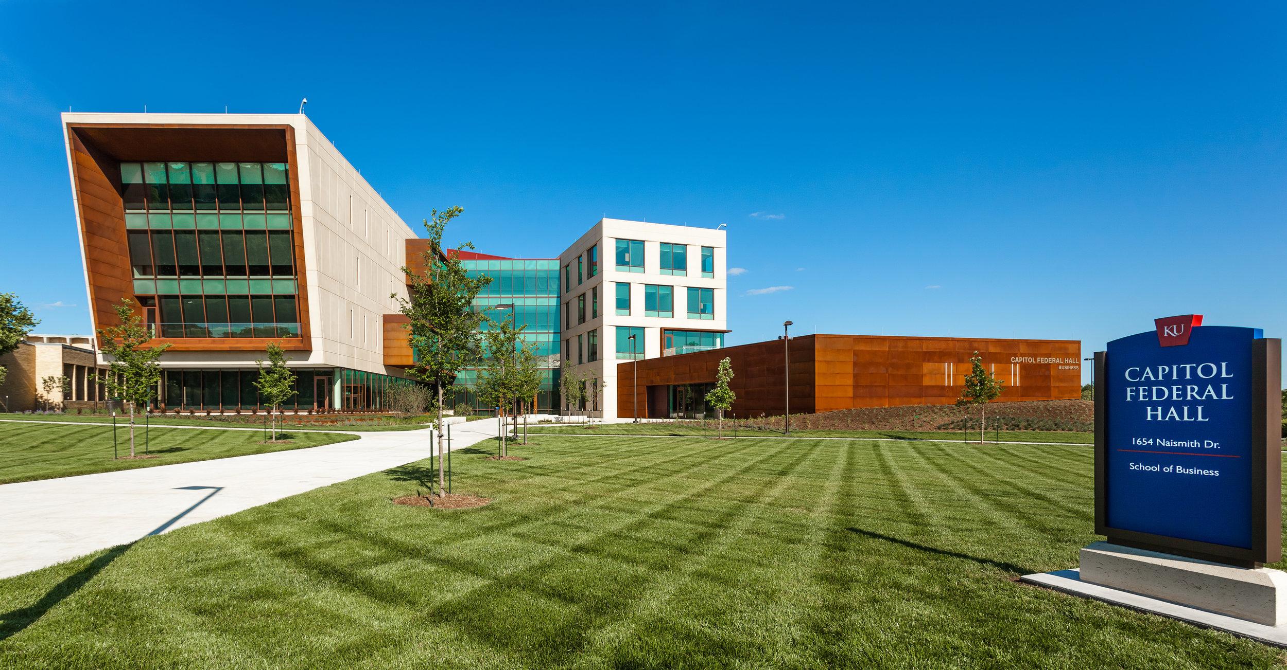 Univeristy of Kansas - Capital Federal Hall