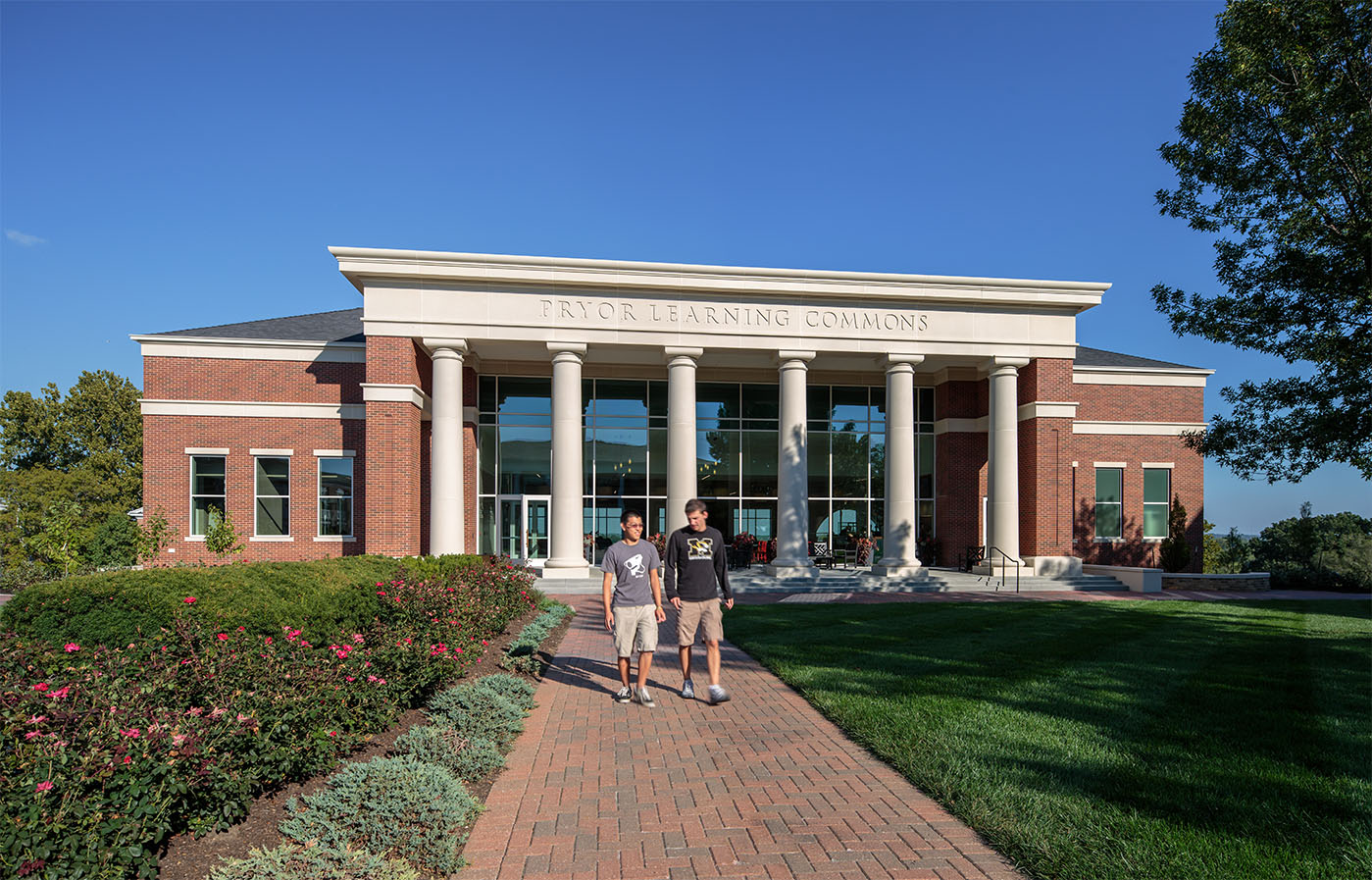 2012 - William Jewell College - Pryor Learning Commons 1.jpg