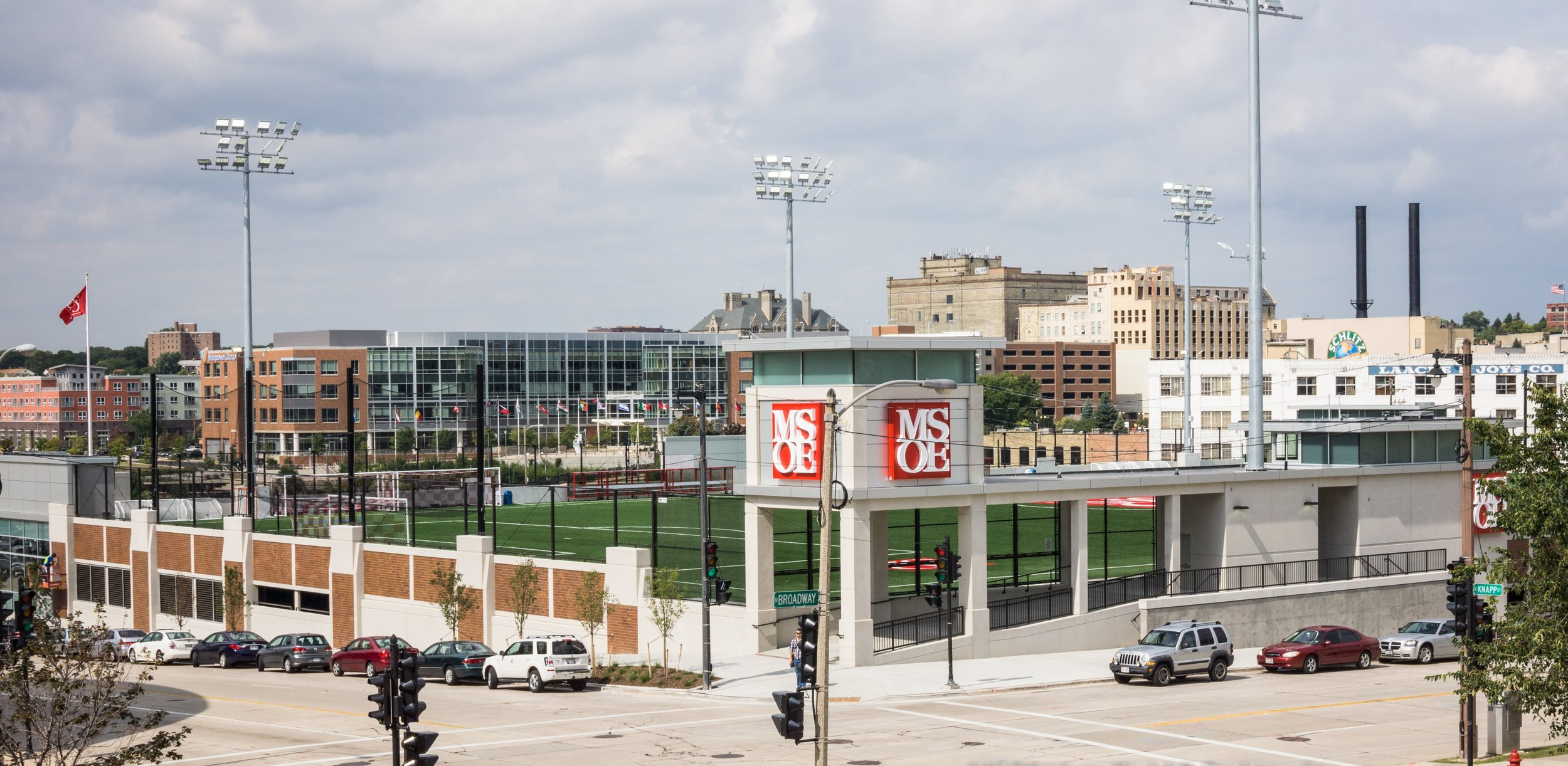 MSOE Viets Field and Parking Structure - Milwaukee, WI