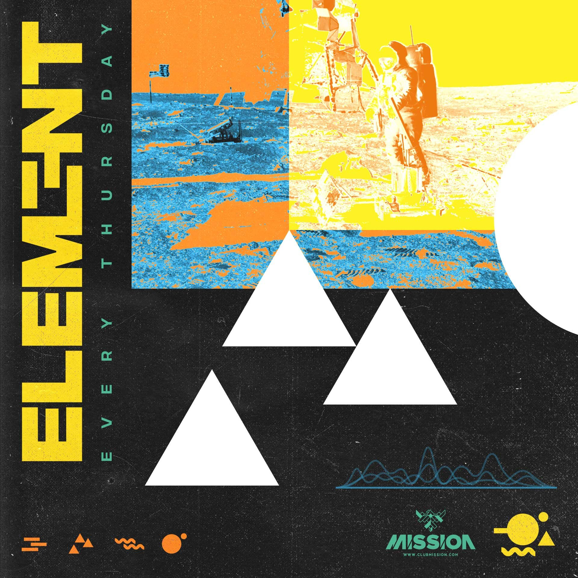 ELEMENTEVERY THURSDAY - What are the Elements that make a great event? We've stripped back right down to the foundations, providing a quality atmosphere through production, sound & crowd.£3 Fosters£3 Sambuca/Tequila (3 for £6)£3 Double Spirit and Mixer: Vodka, Gin, Bacardi or Captain Morgan's SpicedPLUS: Free admission to 'AFTAS' if you've already been at ELEMENT.22:30PM - 6AM