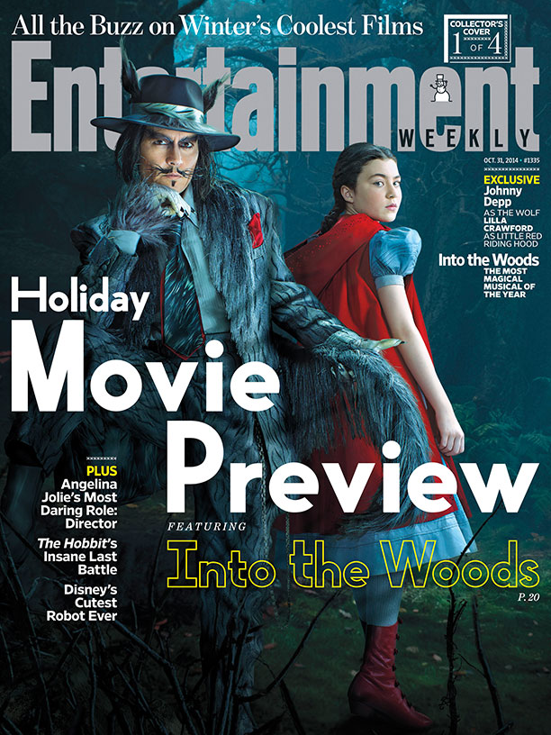 Entertainment Weekly cover, October 2014