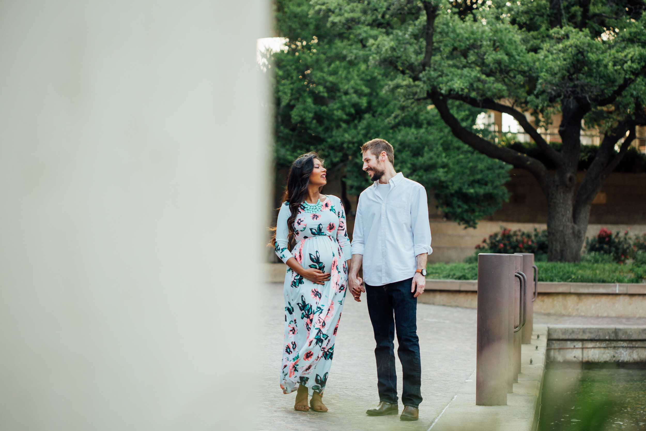 las colinas maternity portrait session
