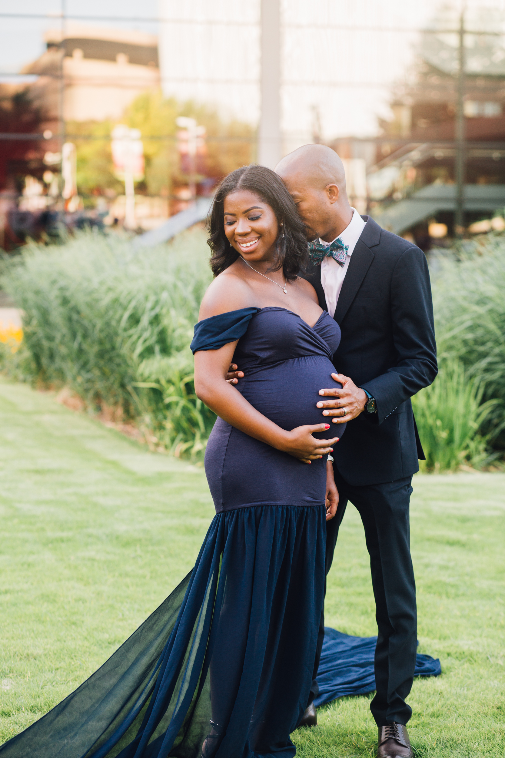 dallas urban maternity session