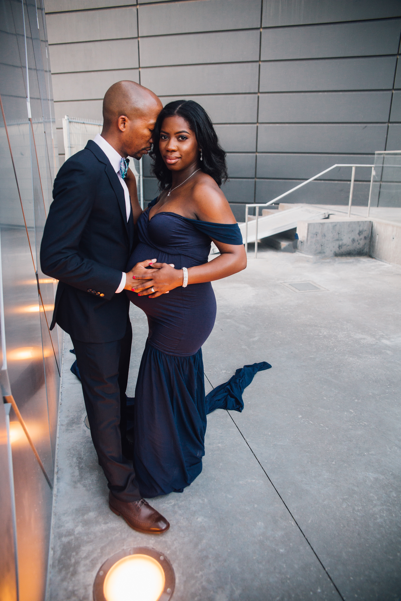 downtown dallas tx maternity photography