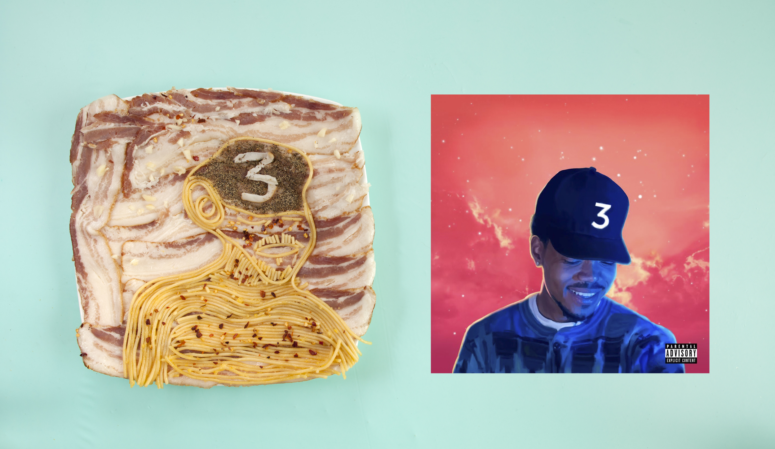 Chance the Rapper as Spaghetti Carbonara