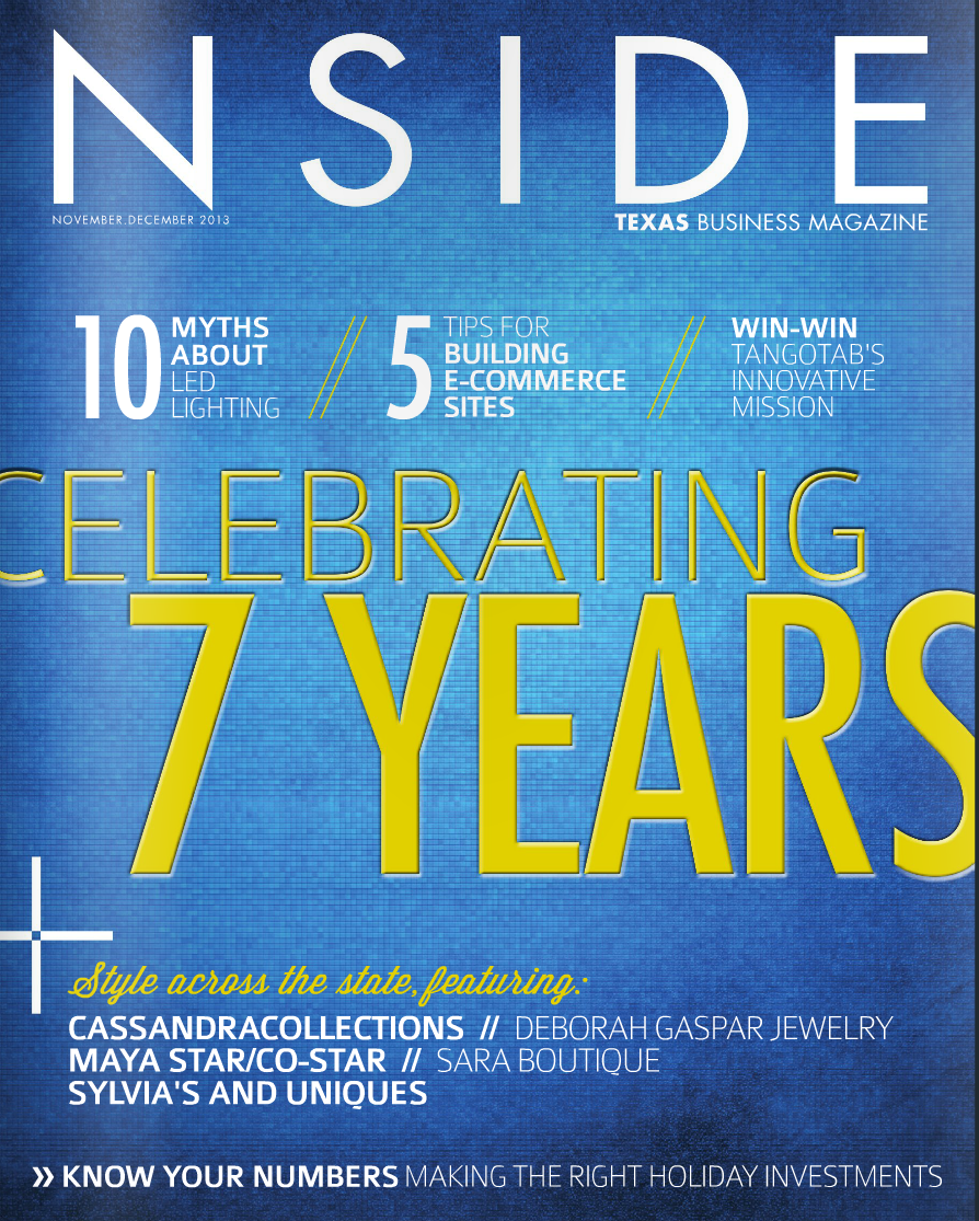 NSIDE MAG NOV/DEC 2013 COVER
