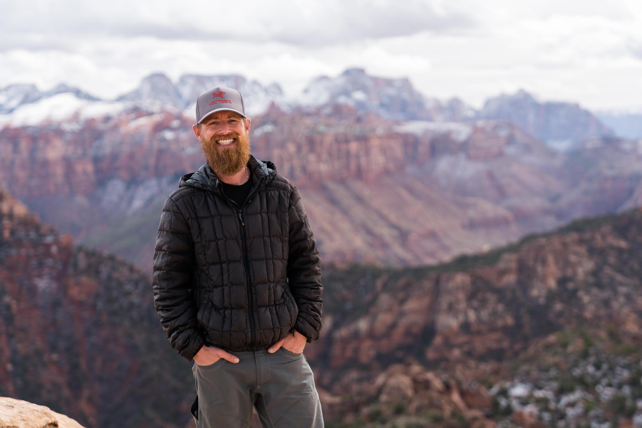 Christian Loya, guide and snack guru