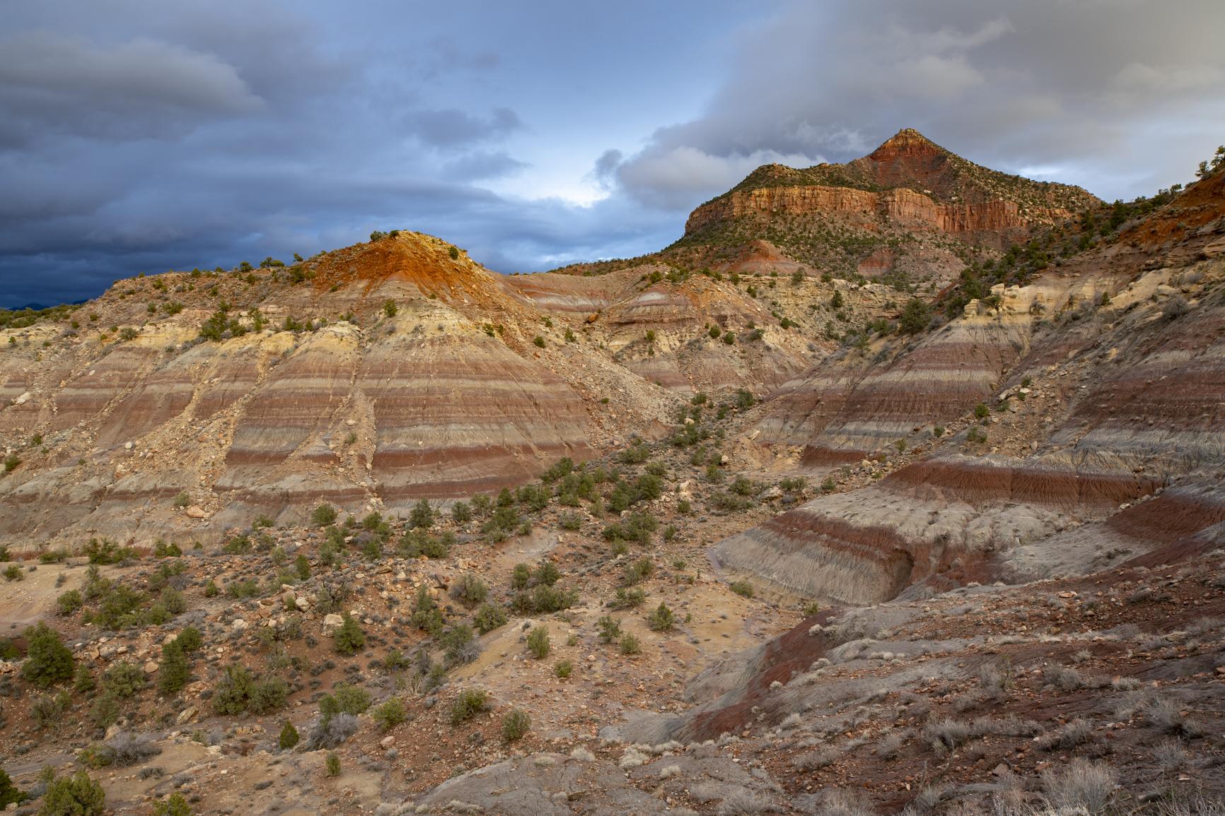 Southern Utah Landscape at Sunset