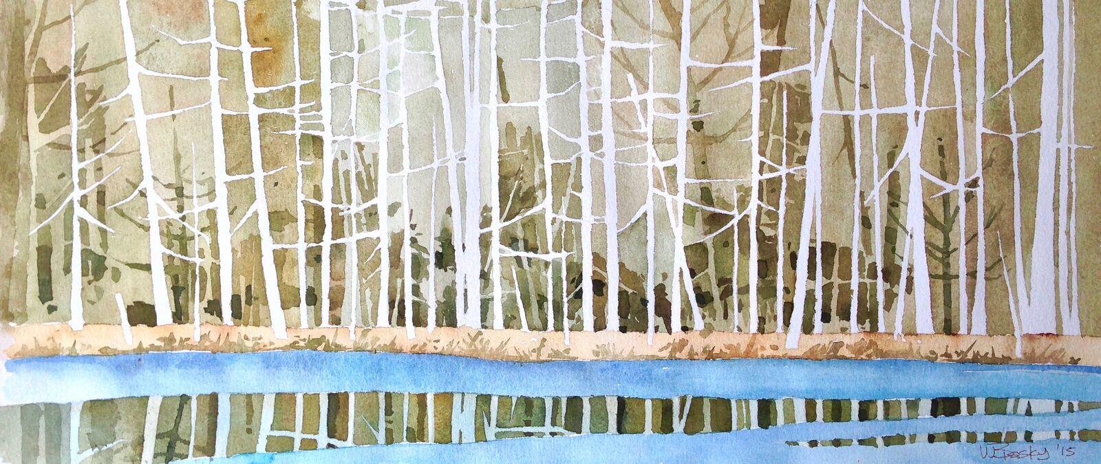 Whonnock Lake by Wayne Bissky