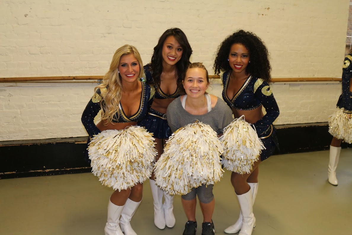 My first magazine assignment: interviewing NFL cheerleaders on their profession as a workout
