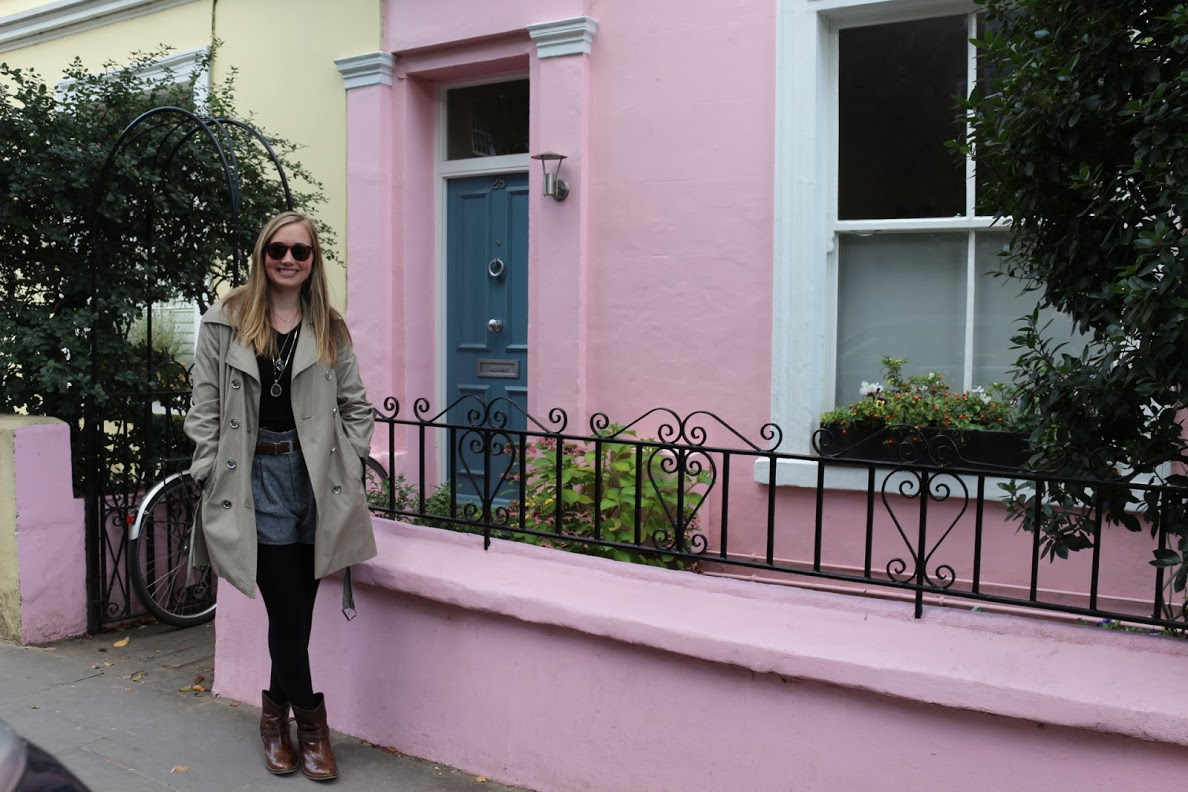 My first weekend in England, I spent exploring Notting Hill.