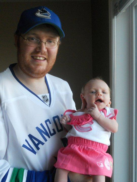 Justin Reed with his daughter Addisyn