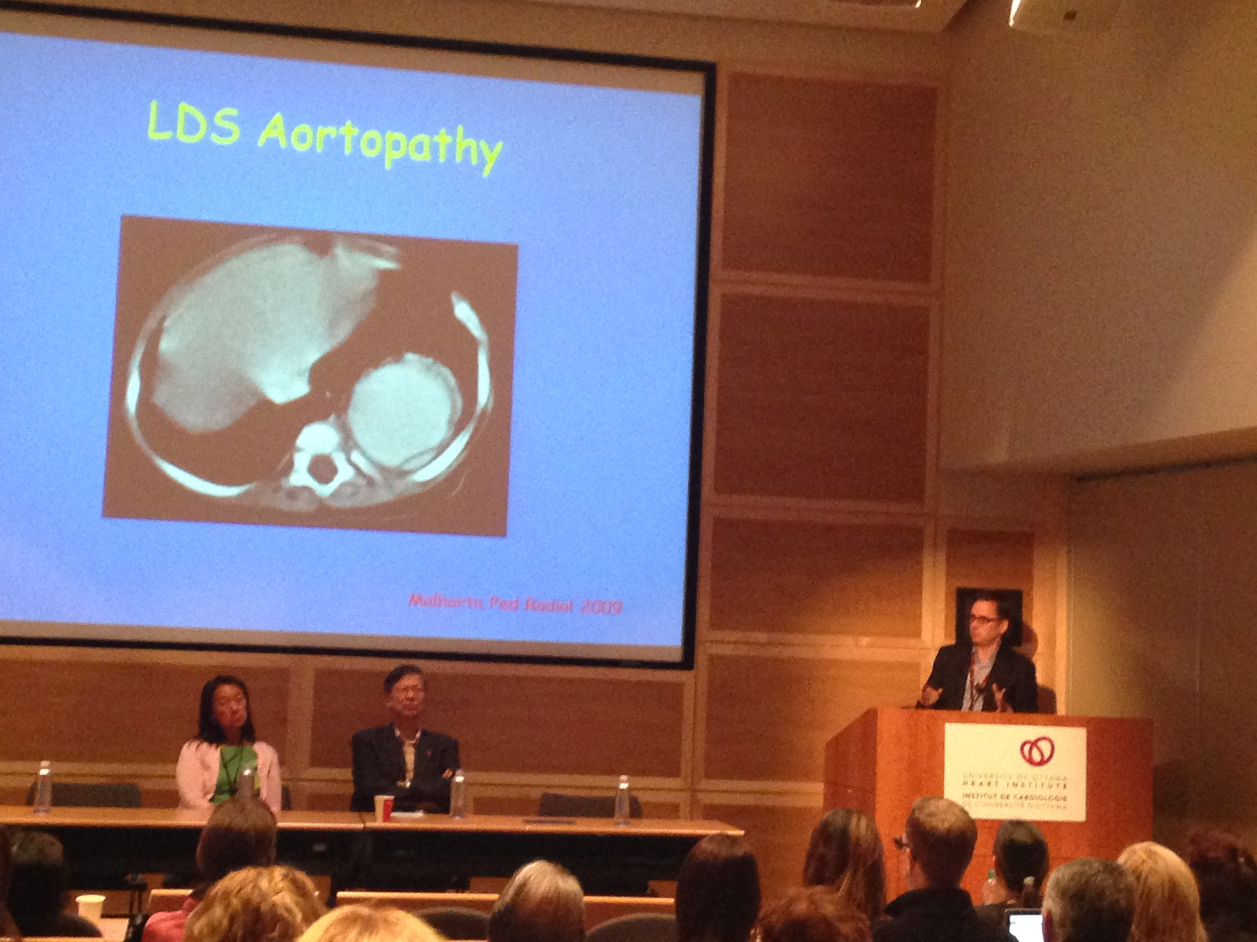 Dr Luc Beauchesne, UOHI - Other Genetic Aortic Disorders