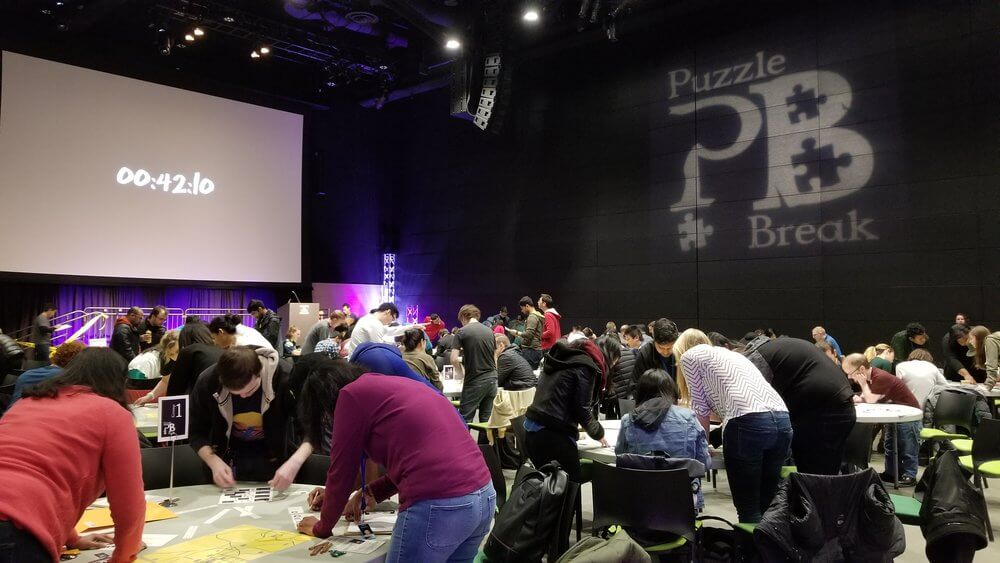 Got a conference or meeting space? Puzzle Break's got an unforgettable teambuilding experience.