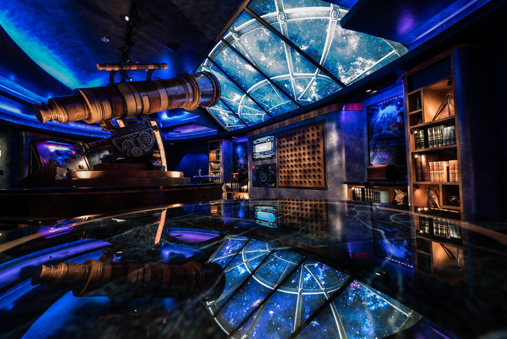 Actual in-game photo of Puzzle Break: Observatorium aboard Independence of the Seas. A magnum opus, until the next one.