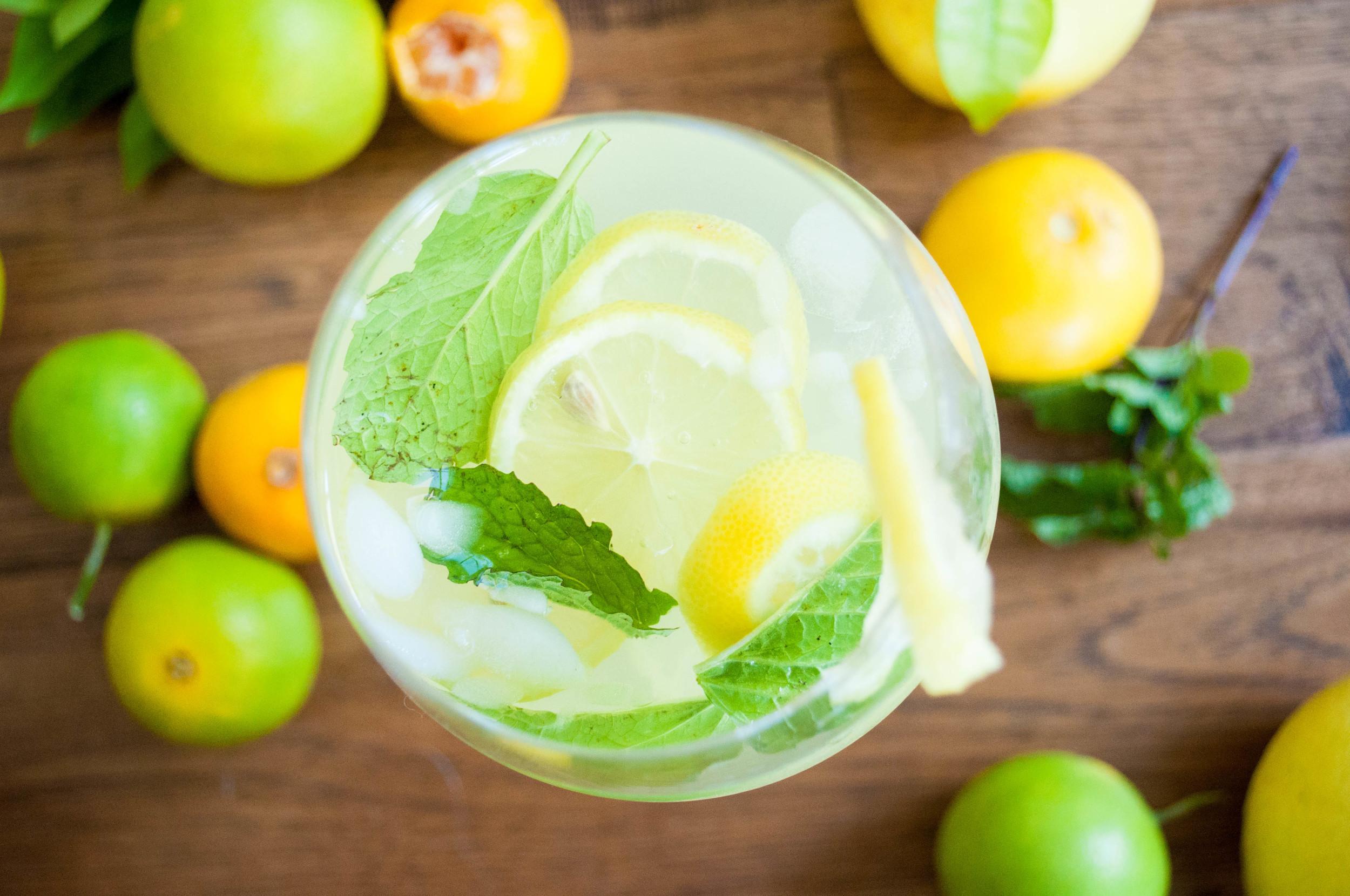 Healthier Front Porch Lemonade