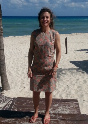 karrie in the mayan riviera