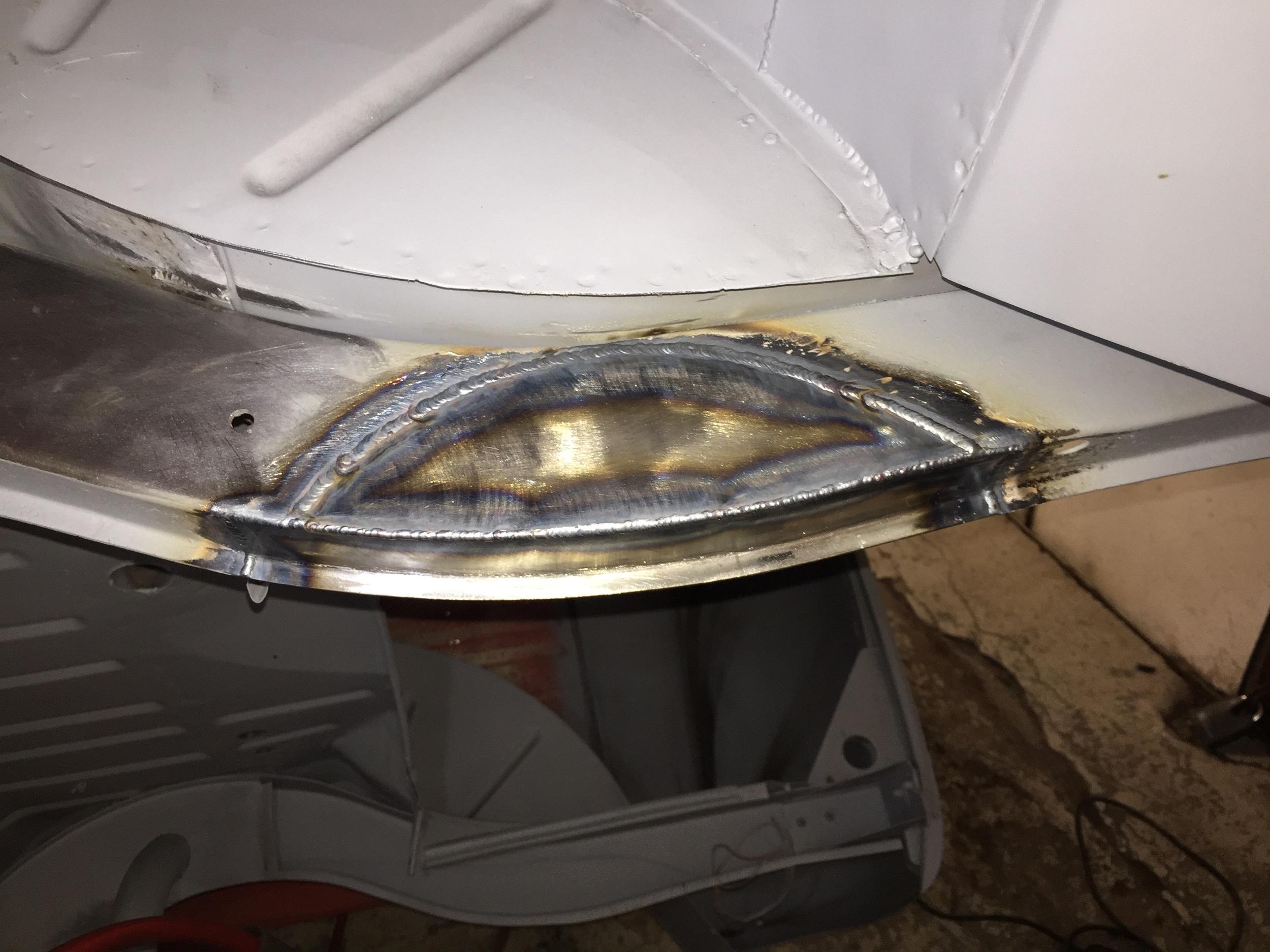 Heavy penetration welding