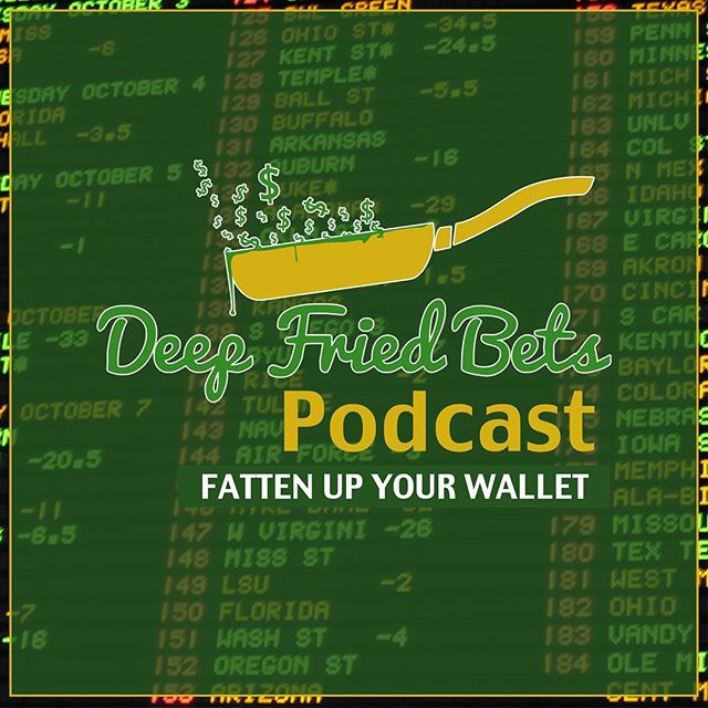 WE'RE BACK! College Football Week 1 is all the rage at the Deep Fried Bets Podcast. Come check us out and tell your friends! #LinkInBio