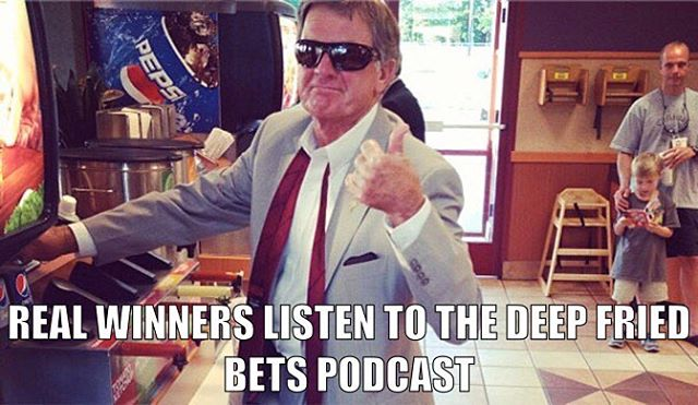 Chapter 4.3 of the Deep Fried Bets Podcast is live!! Featuring @danrubenstein of @solidverbal helping us break down week 3 of the College Football Season! #LinkInBio