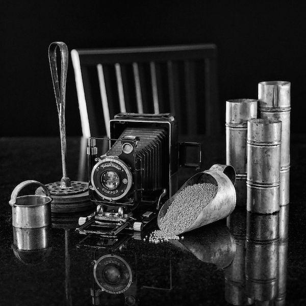 Voiglander Camera and Grandma's Kitchen