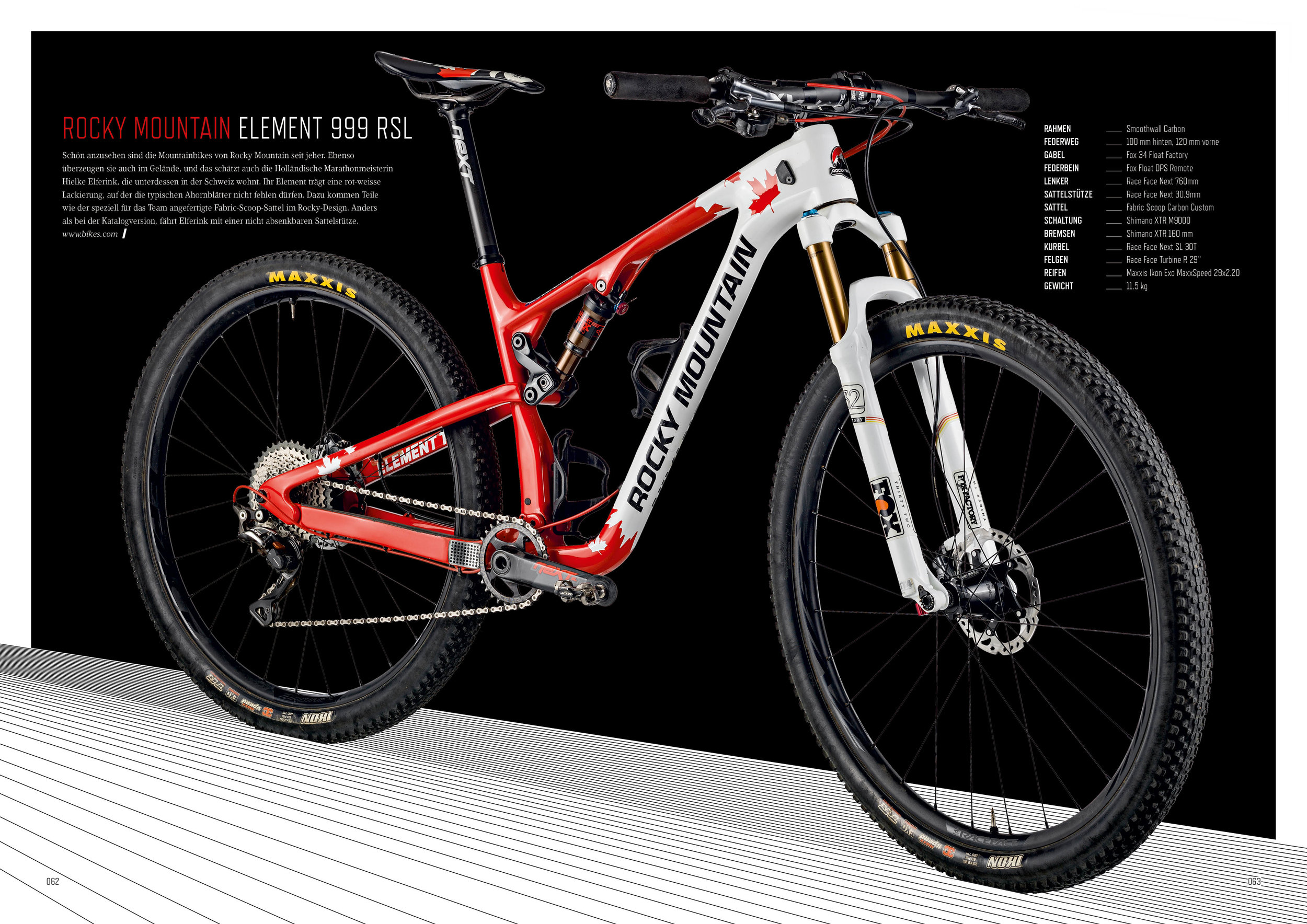 Article about my Cape Epic racemachine in the Swiss RIDE Magazine