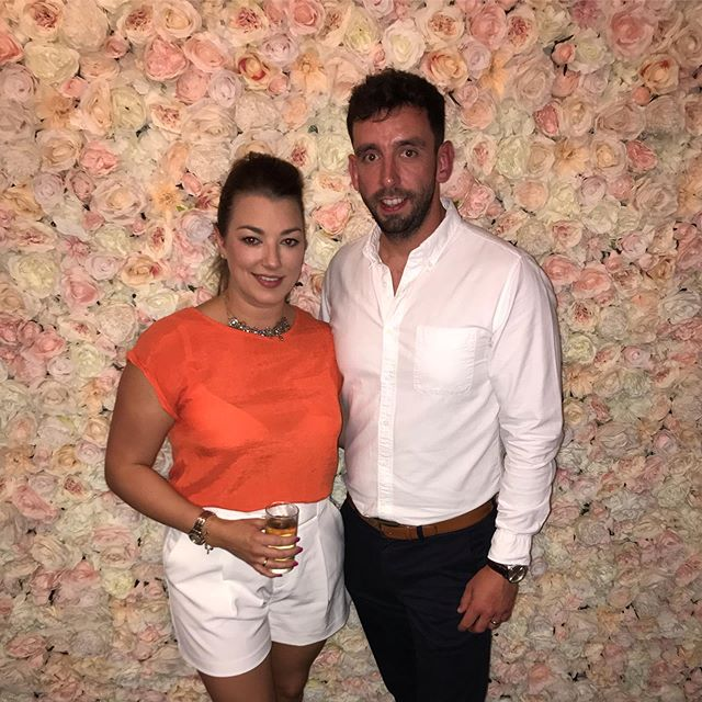 Night out with the beautiful wife! 👌🏼 Congratulations @rossb1ack @philippa1606 you legends x