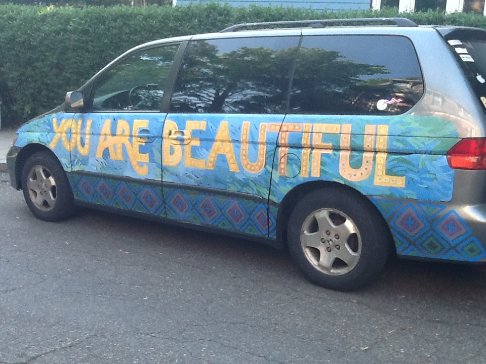 I received an email from a man telling me that seeing this car helped him decide not to end his life.  ♥