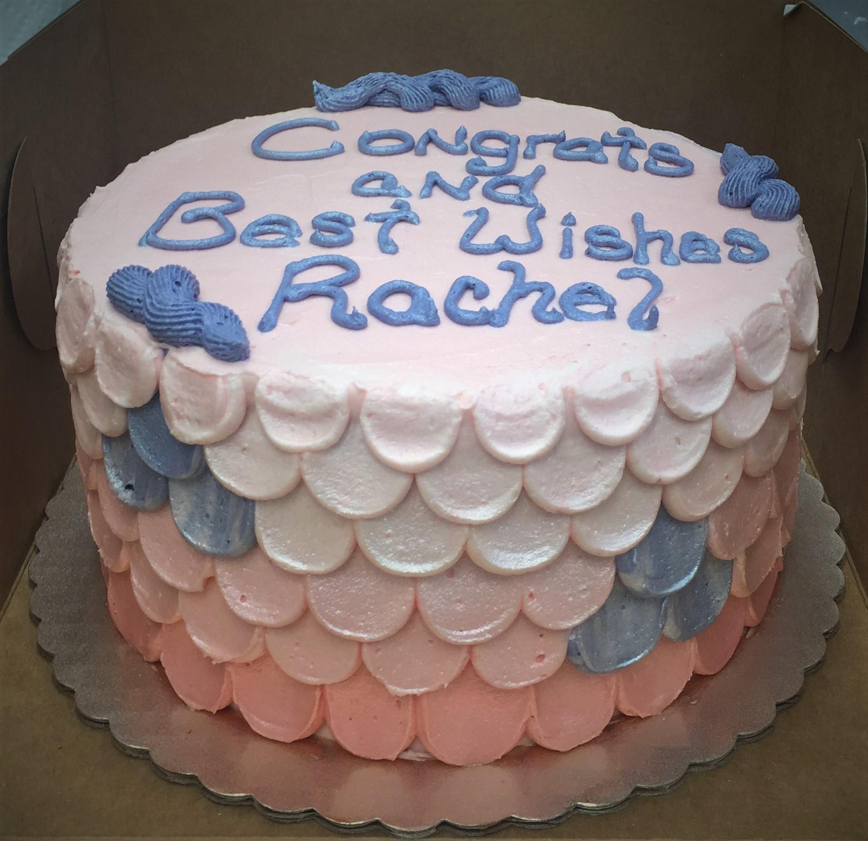 Gateaux Bakery & Cafe Congratulations Cake.JPG