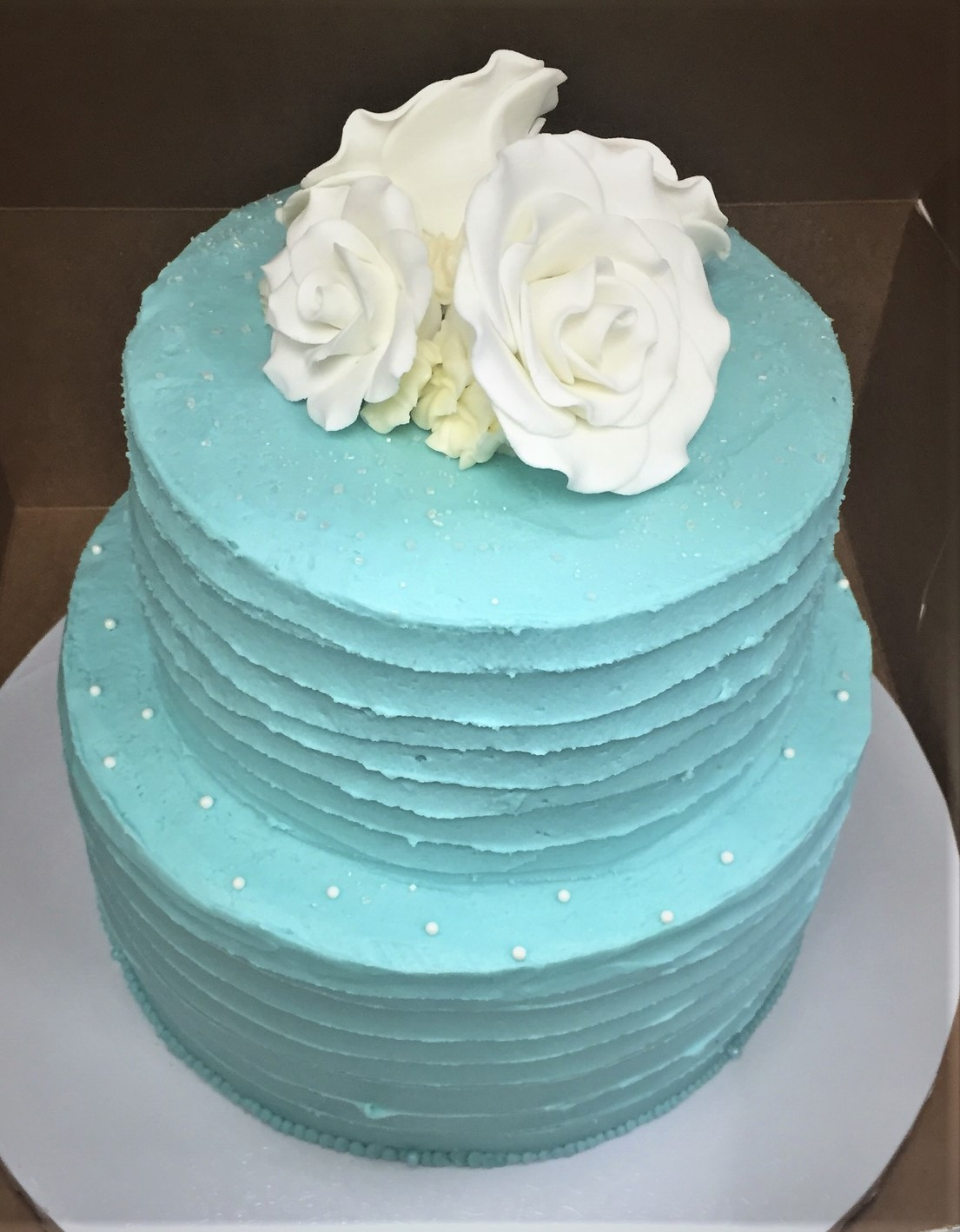 Gateaux Bakery & Cafe Beautiful Teal Cake 3.9.19.jpeg
