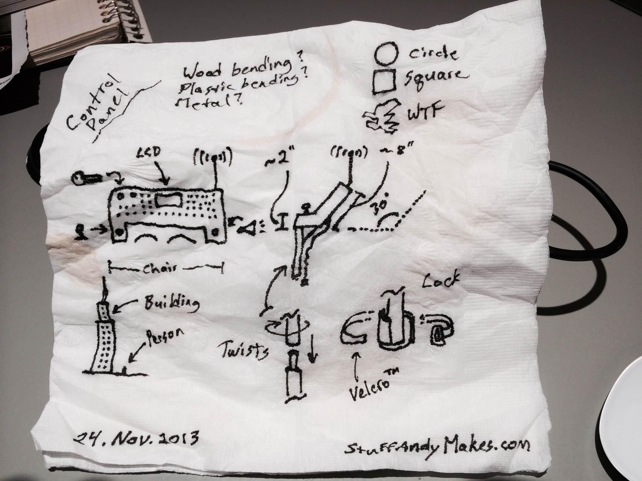 Original Napkin Drawing of Control Panel.jpg