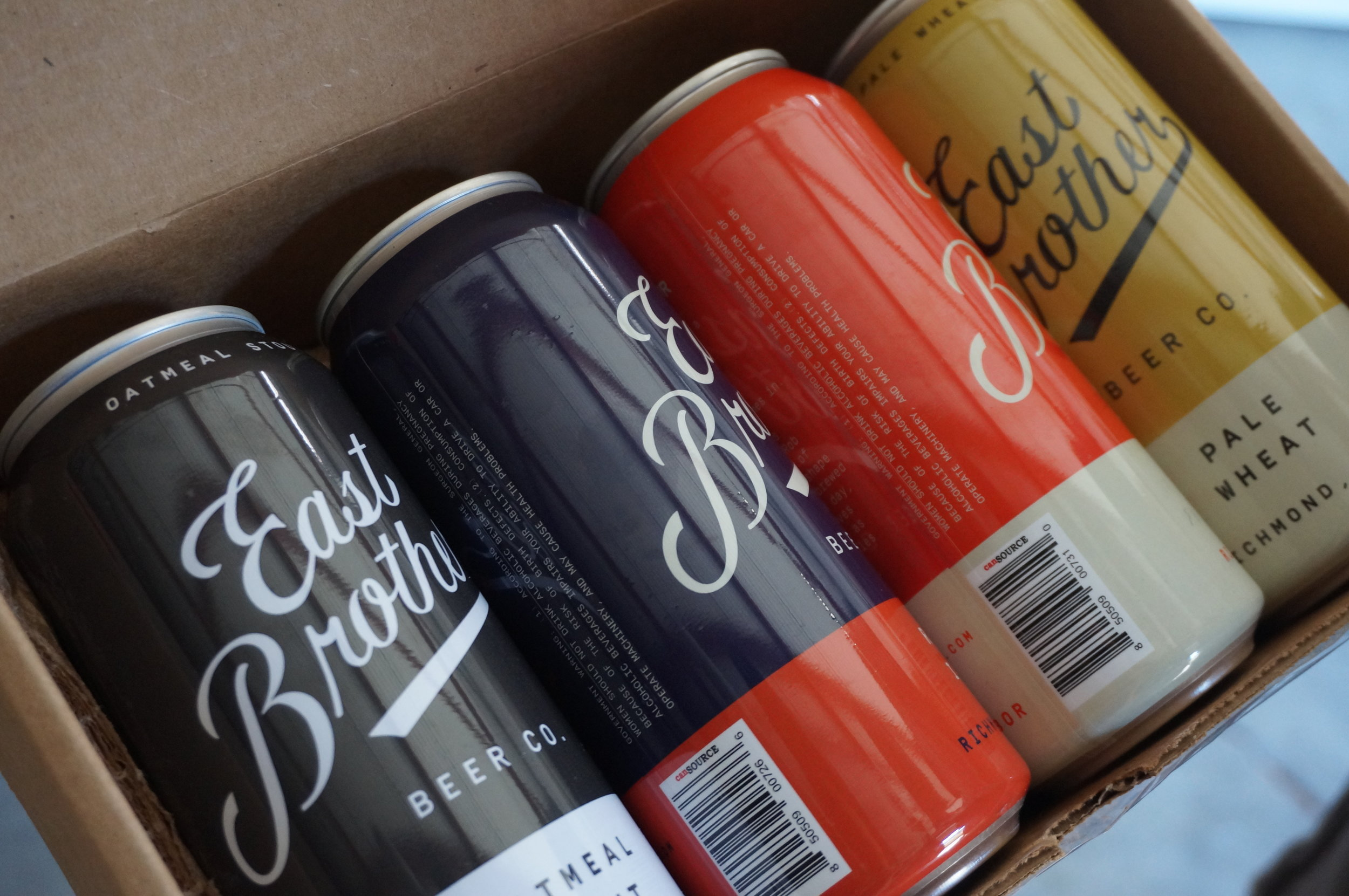 East Brother Beer Co. - homage to the classics