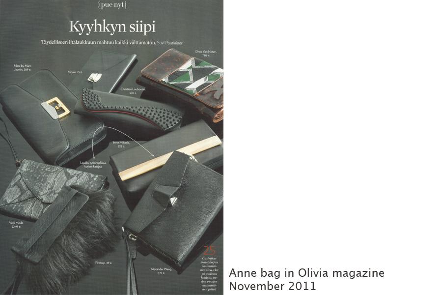 Olivia magazine, November 2011