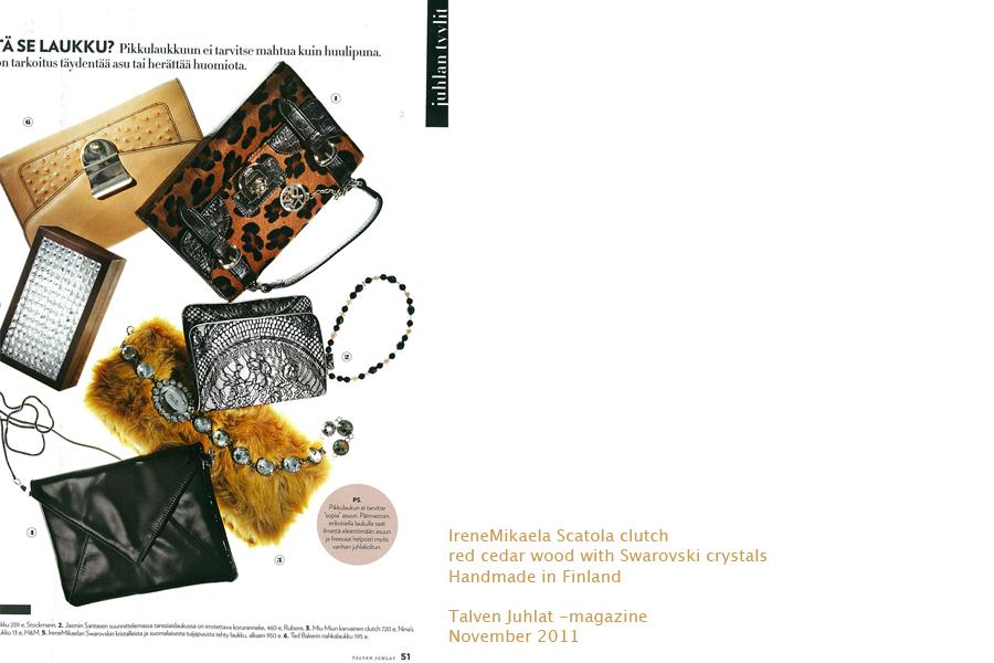 Talven Juhlat magazine, November 2011