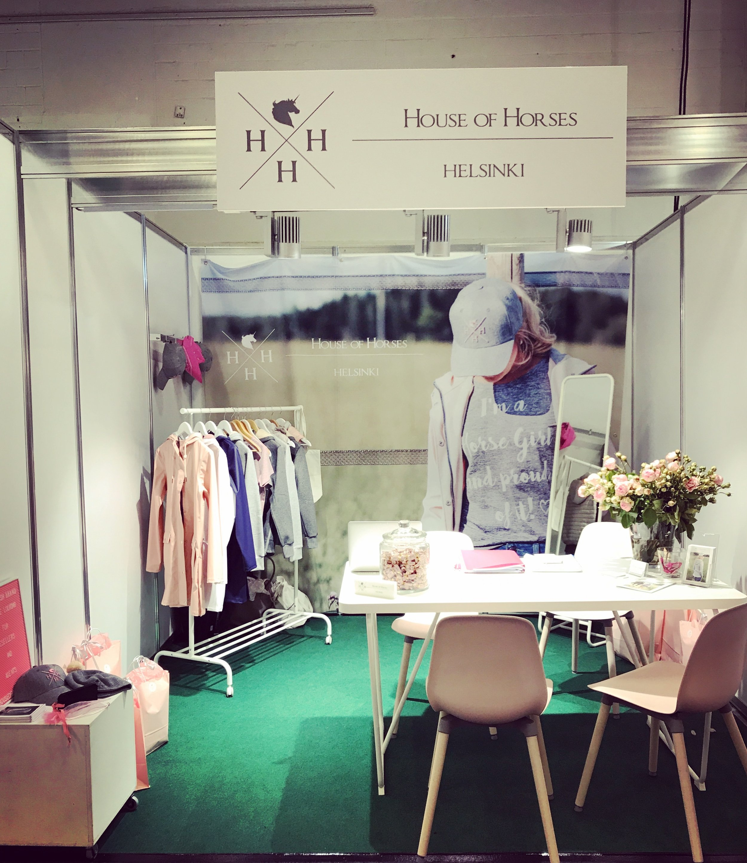 HoH's first stand abroad. Spoga Horse in Germany, fall 2017.