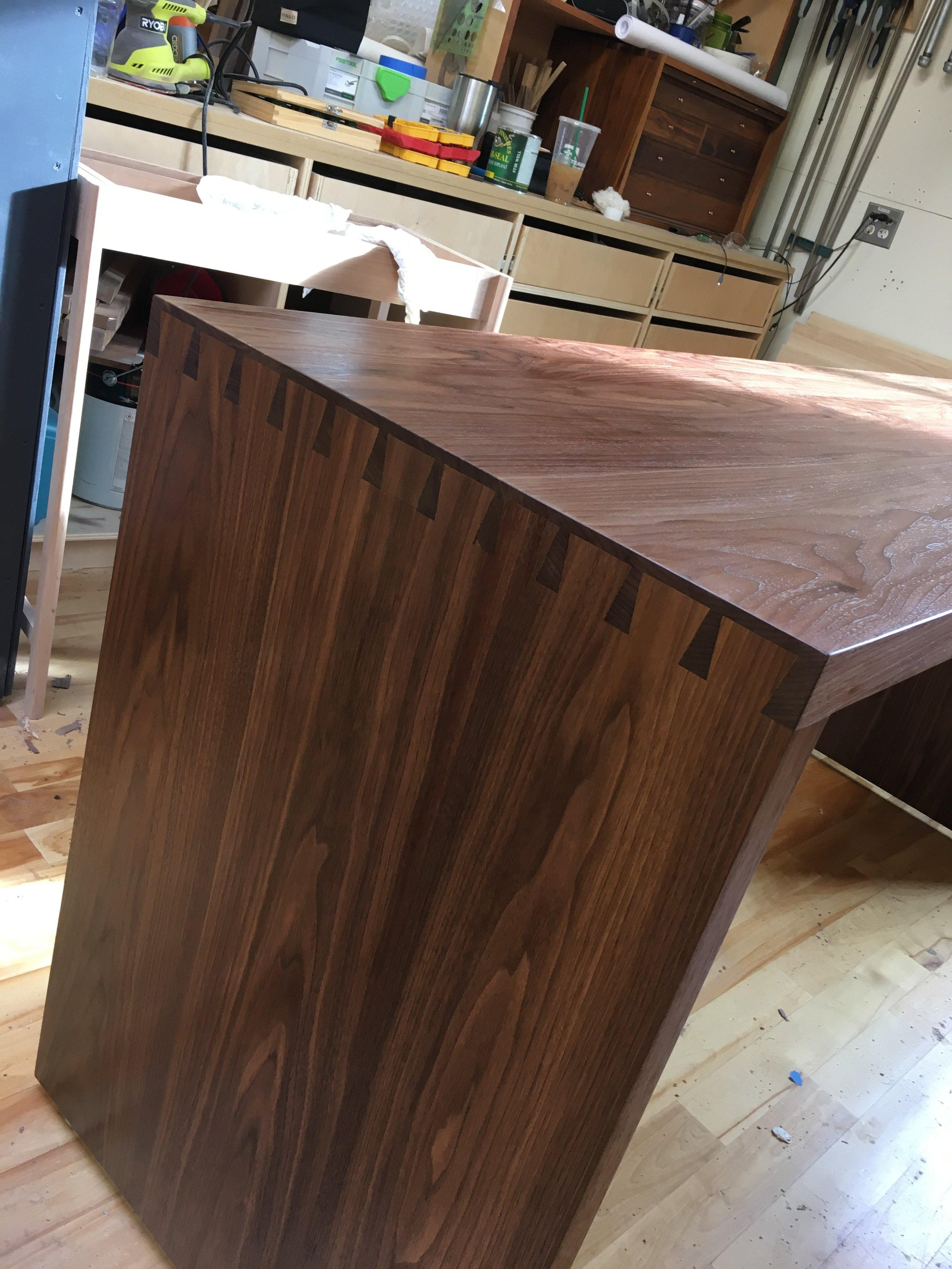 Hone Design Co._Wellesley Desk Process 12