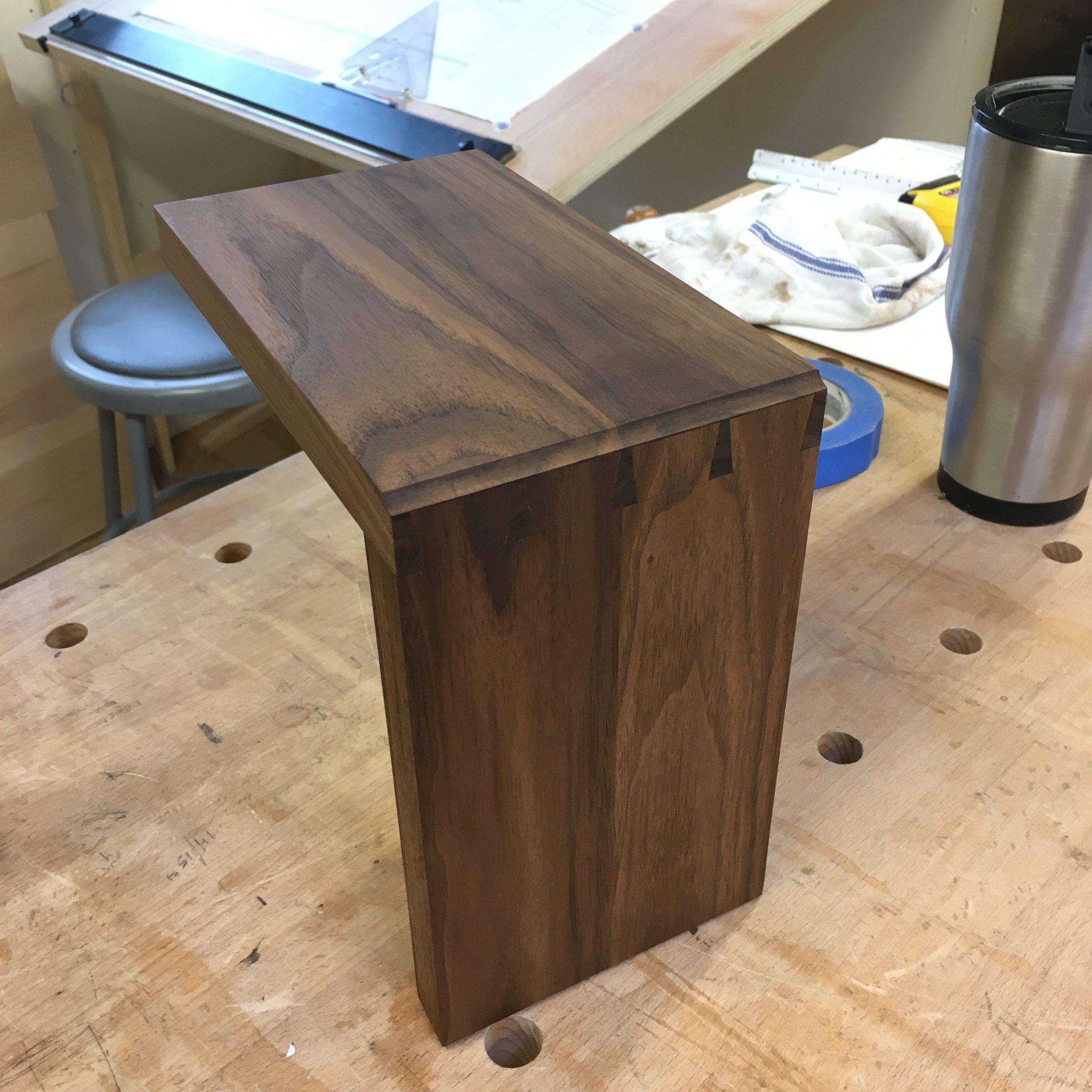 Hone Design Co._Wellesley Desk Process 1