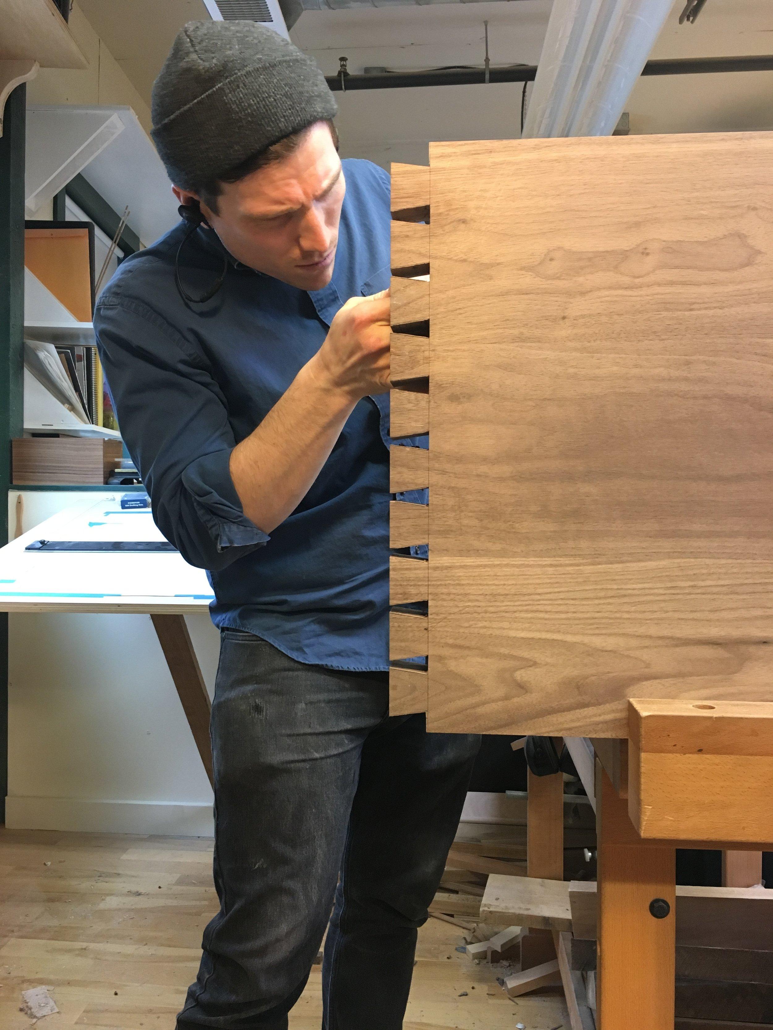 Hone Design Co._Wellesley Desk Process 6