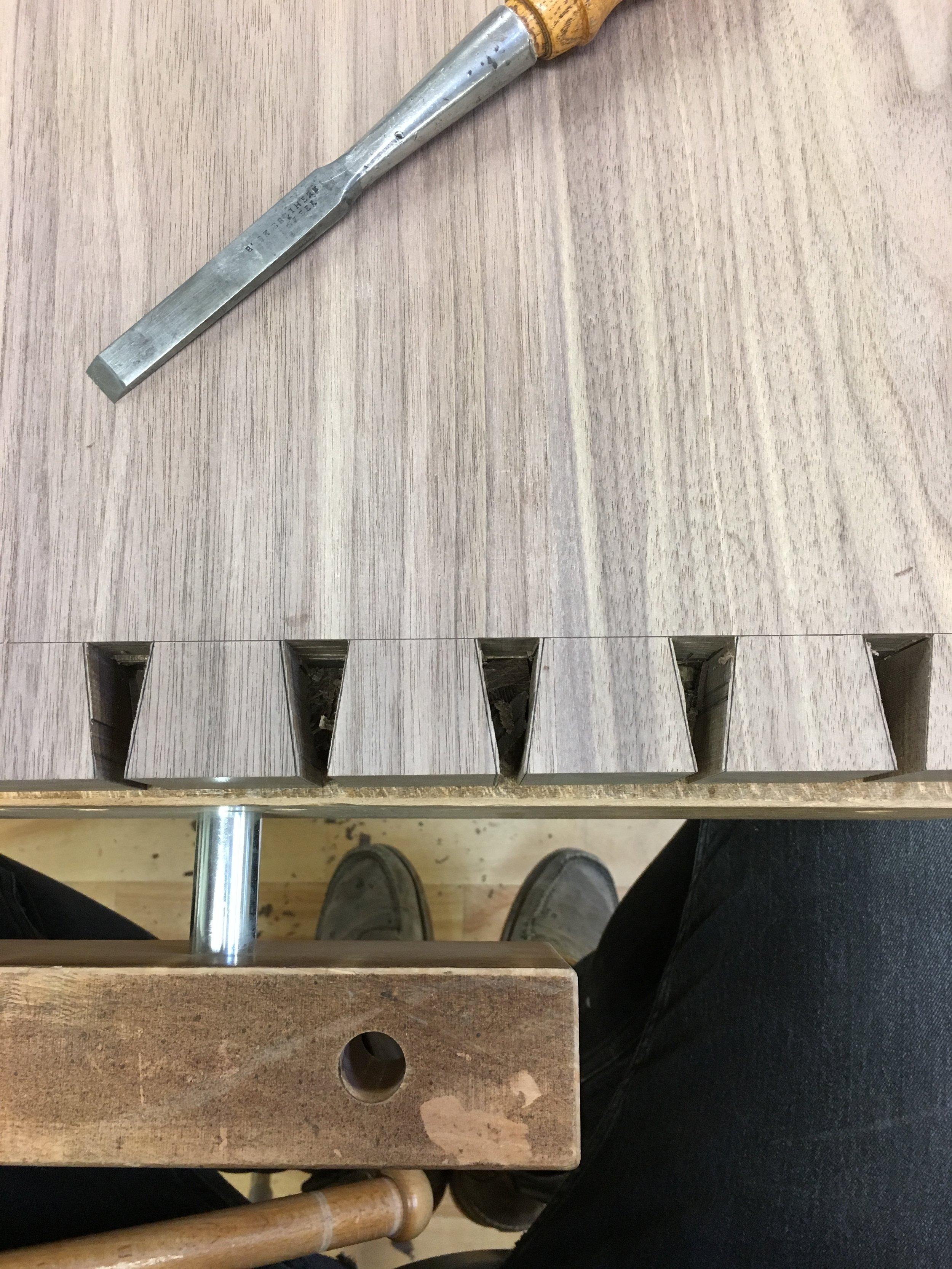Hone Design Co._Wellesley Desk Process 10