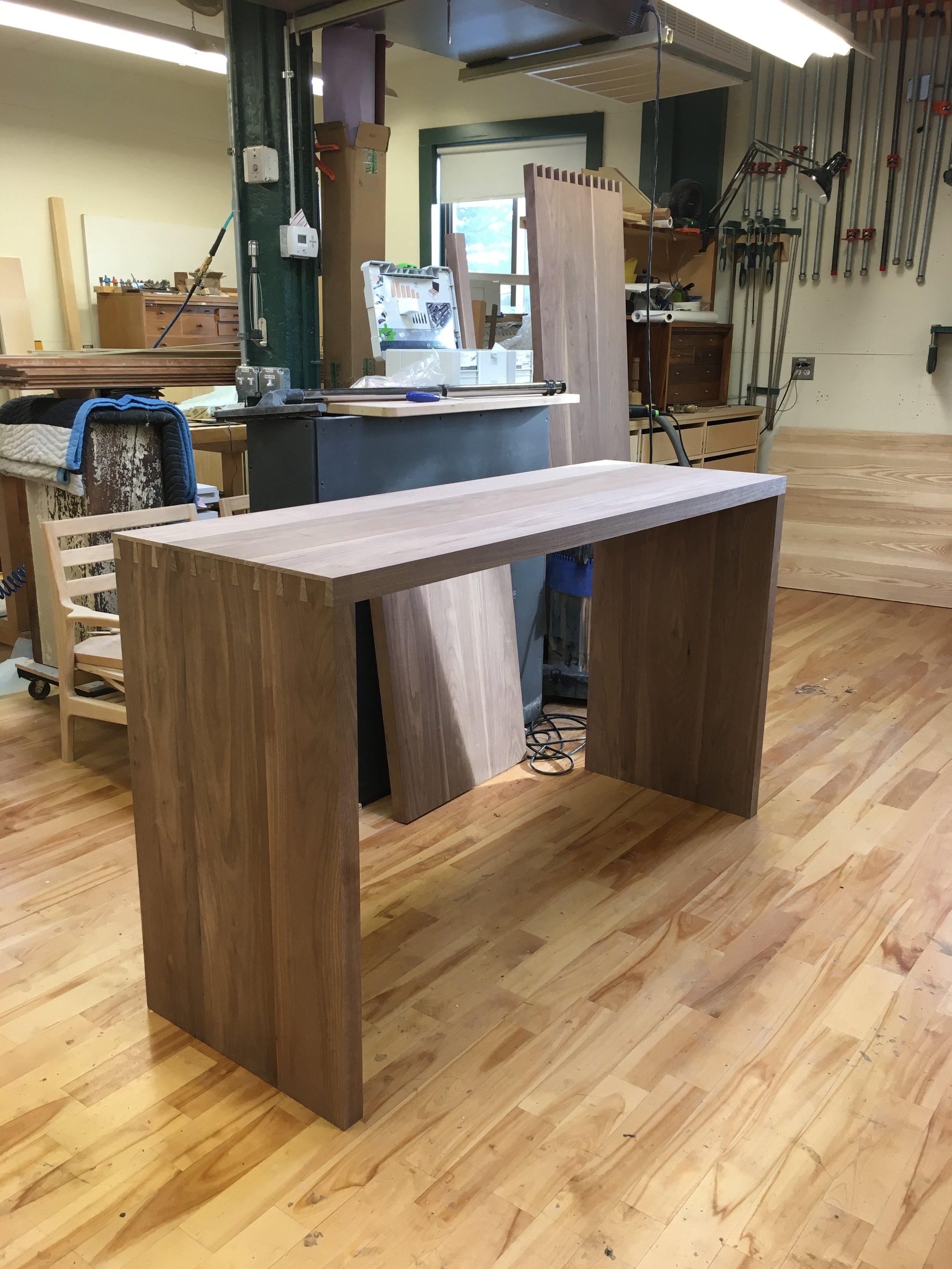 Hone Design Co._Wellesley Desk Process 11