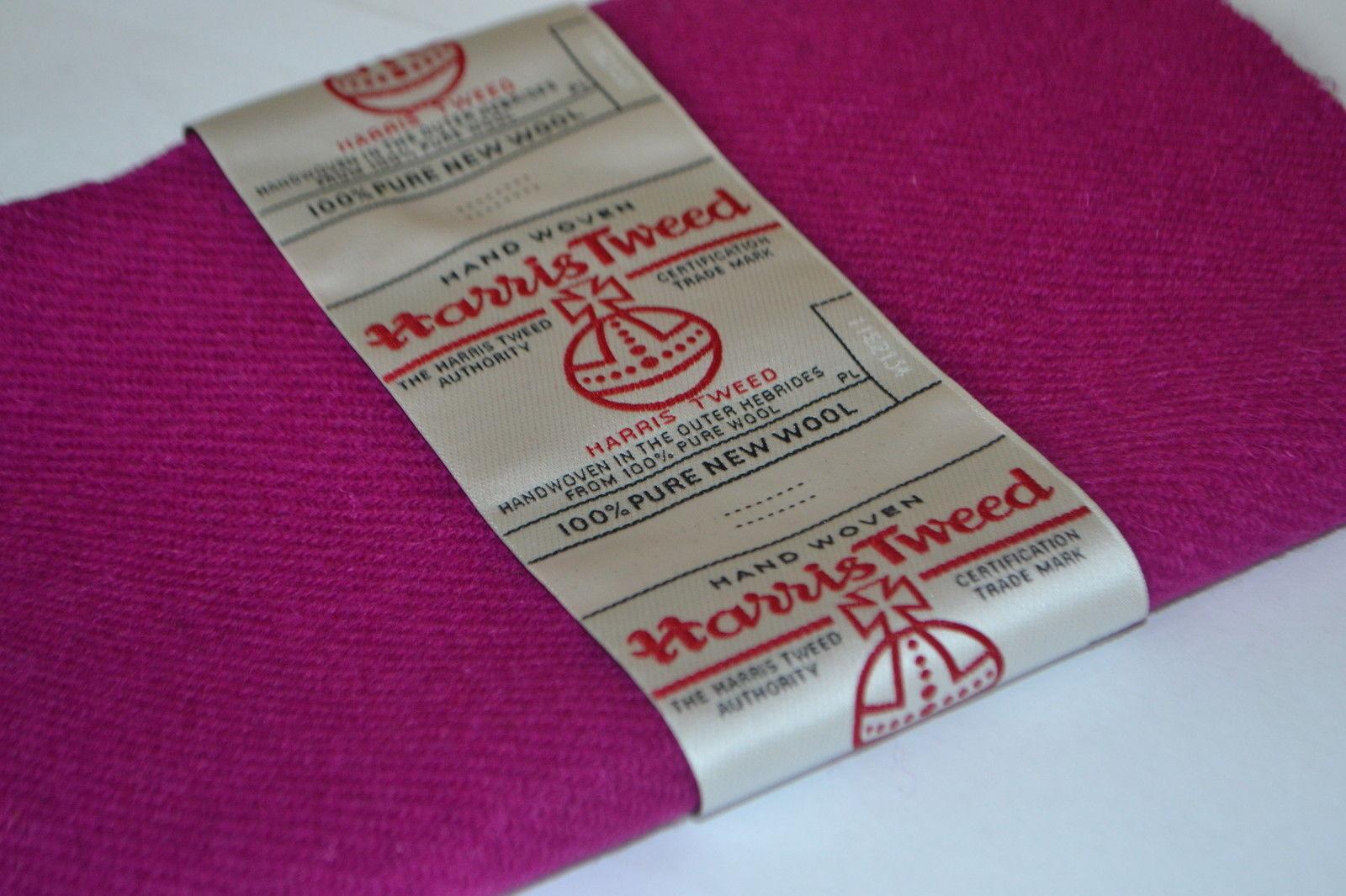 Pink Wool by Harris Tweed