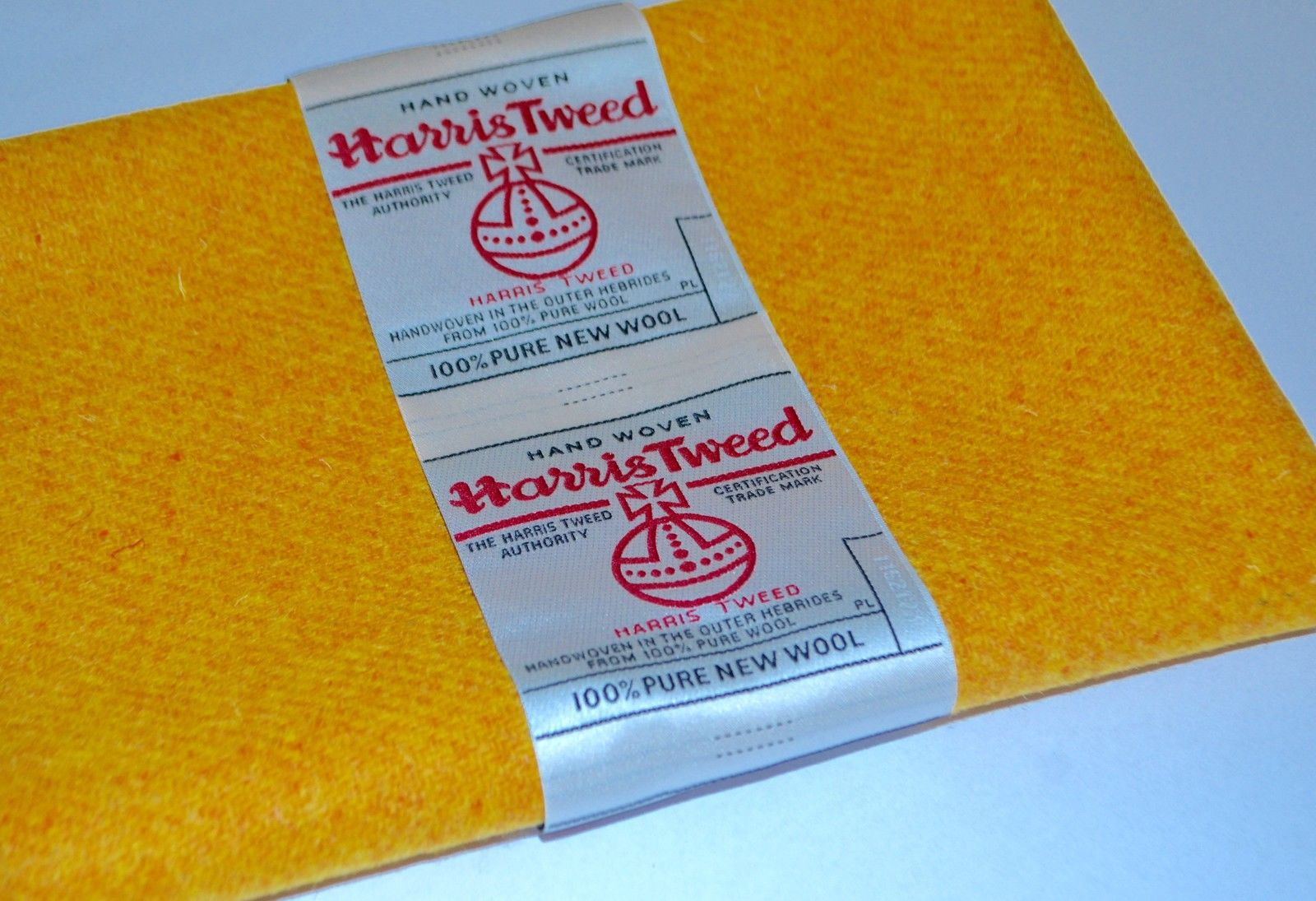 Sunshine Yellow Wool by Harris Tweed
