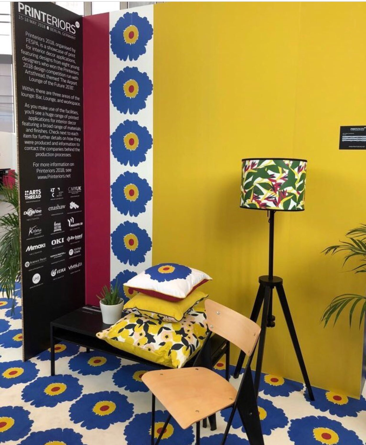Cushions for FESPA 2018 - Over 60 cushions for the international print event in Berlin