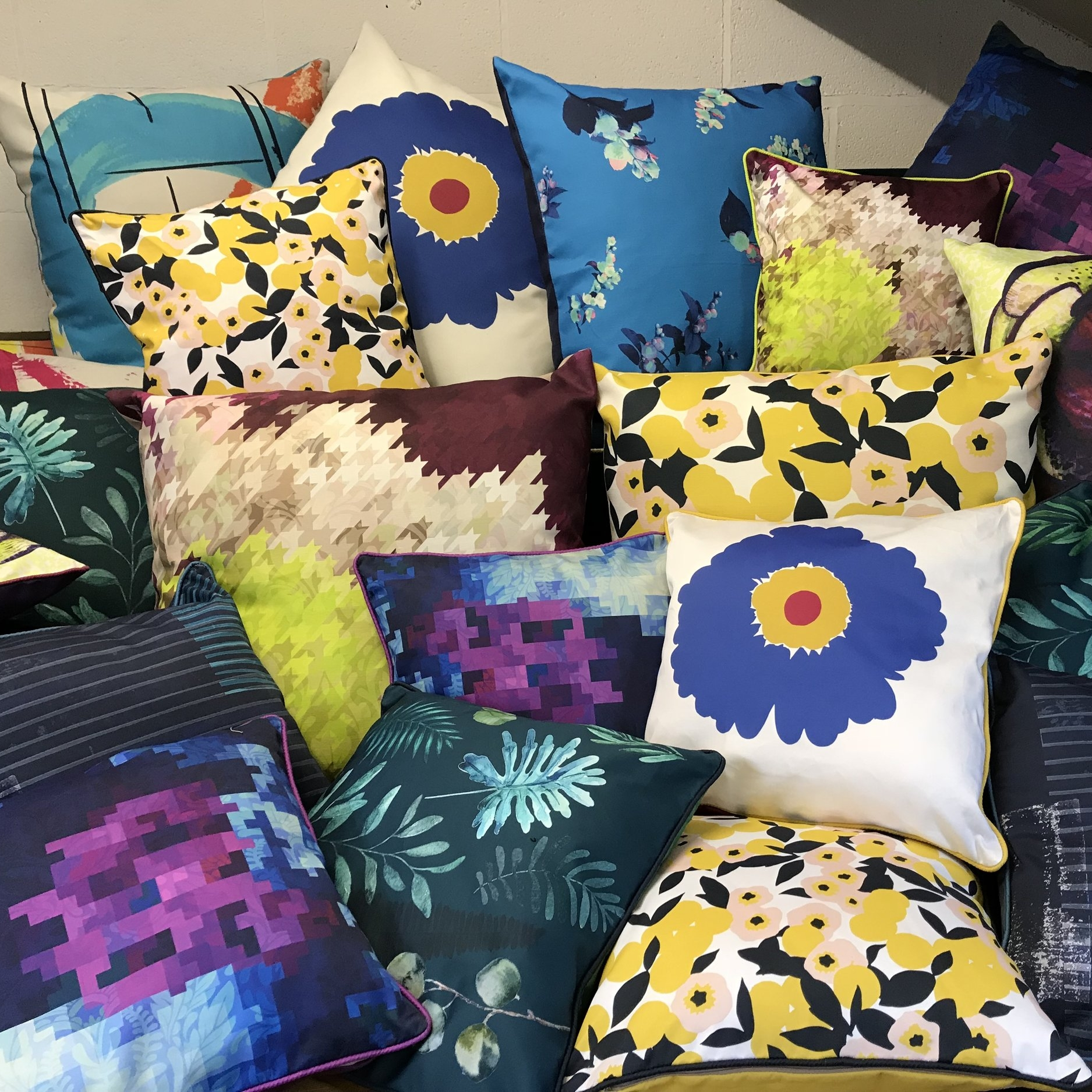 Digitally Printed Cushions - Want your own design printing as a cushion?  Ask us for details