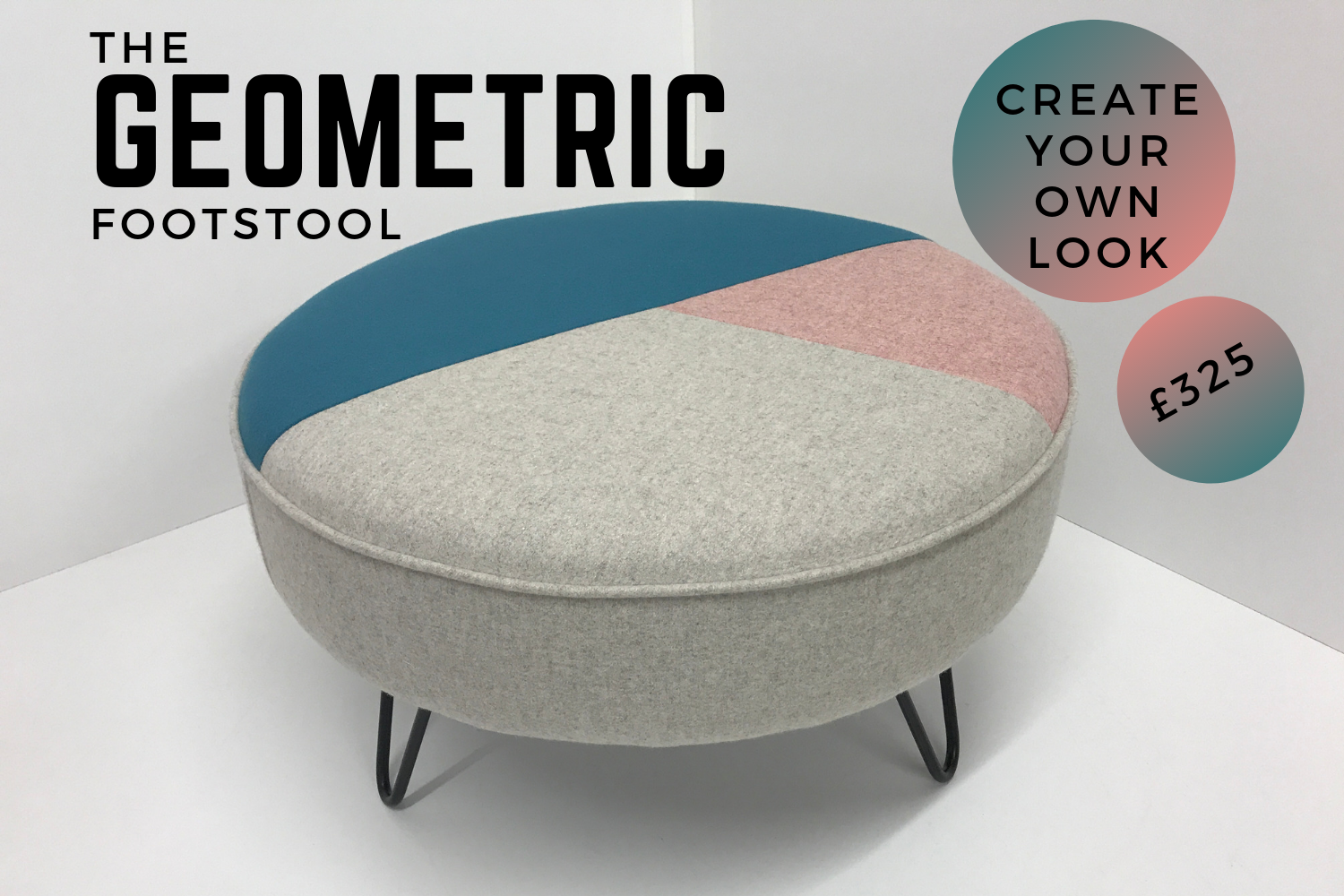 Geometric Footstool