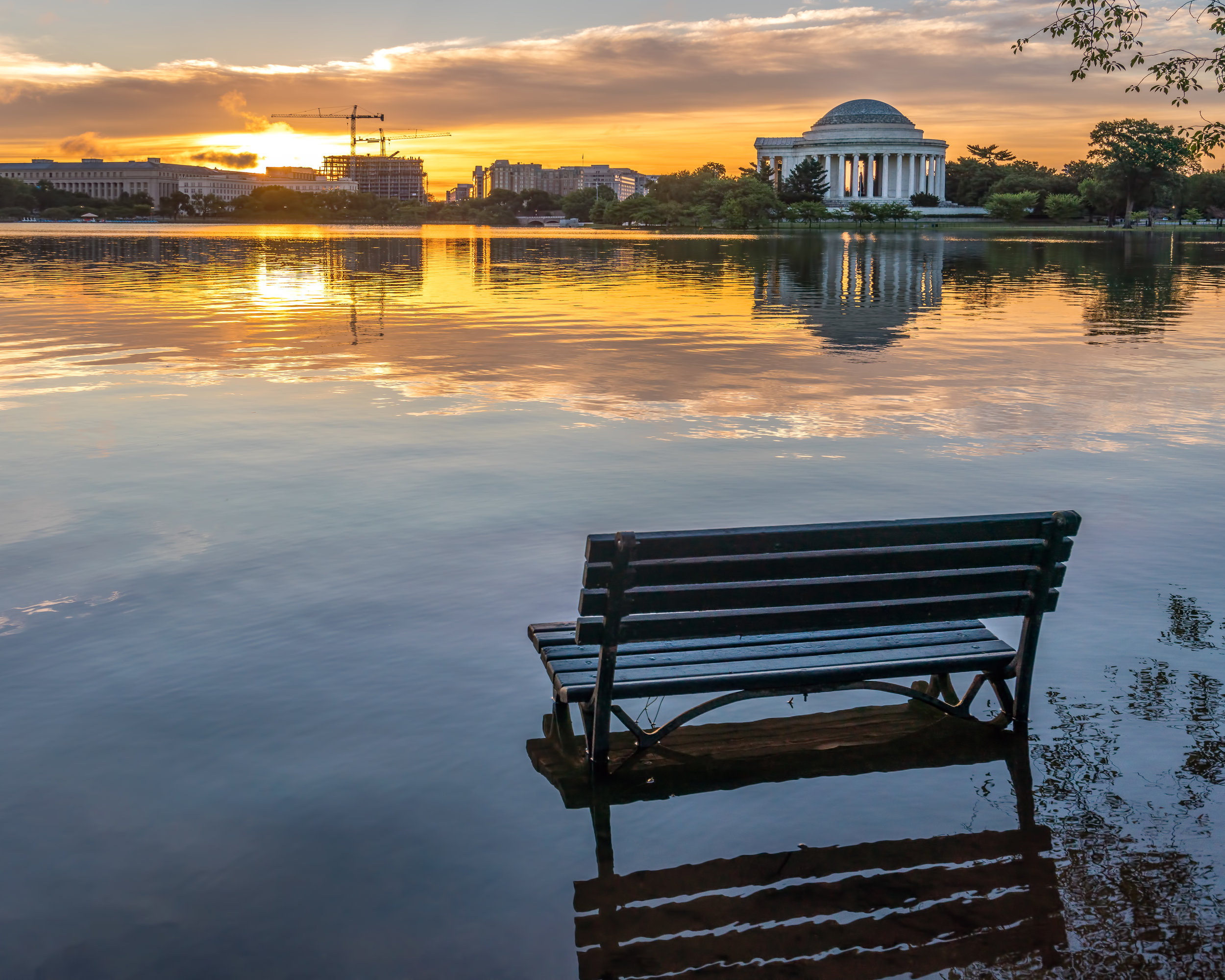 Then you have the surprises such as the Tidal Basin flooding and giving unique opportunities to capture it. Also brings to light the struggles they have so helping to preserve the beauty always good to look at investing in the NPS / National Mall for maintaining these beauties. ---- Sony A7R3 --- 6:12am -- Sony 16-35/29mm - 1/200, F6.3, ISO 400, Handheld.