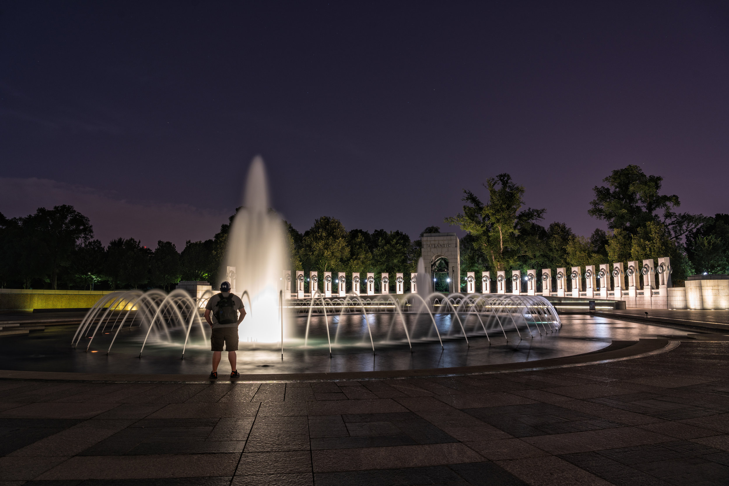 First attempt at the WWI Memorial - Needed to work on my framing - 30 second exposure