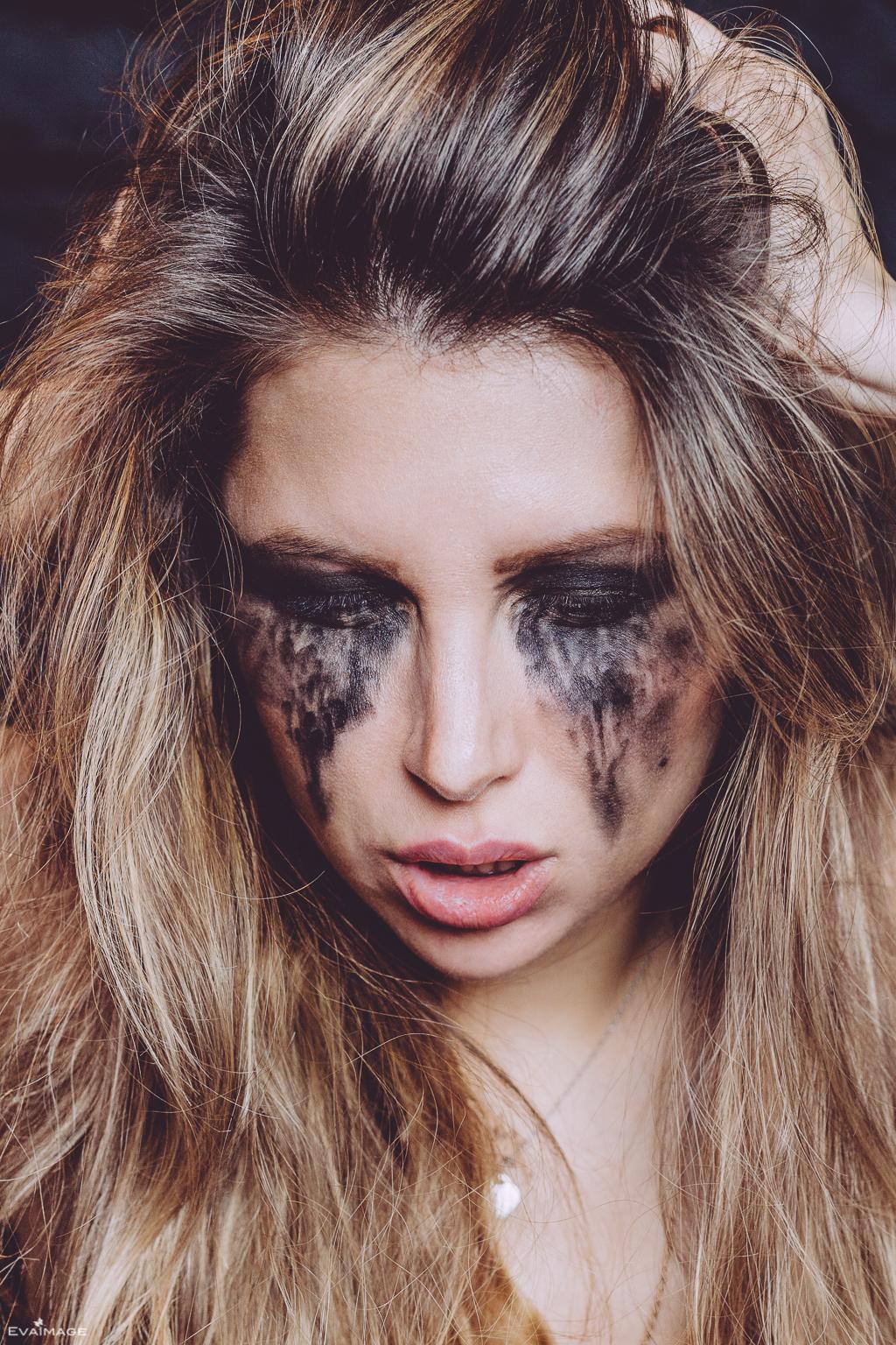 Dark Side Mirror Portrait