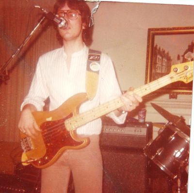 Me in 1978, with the '66 Fender….