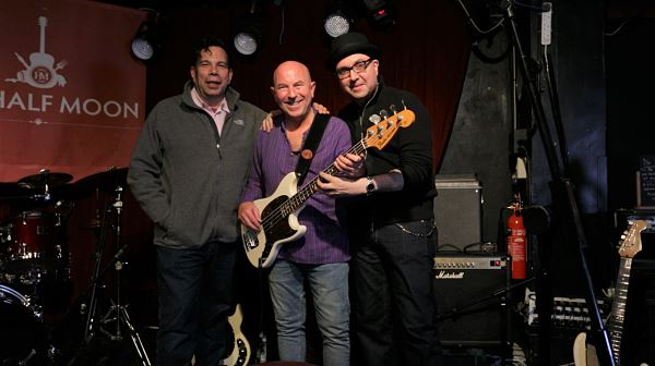 Mark Preston, Steve Bingham, Tom Semioli at The Half Moon